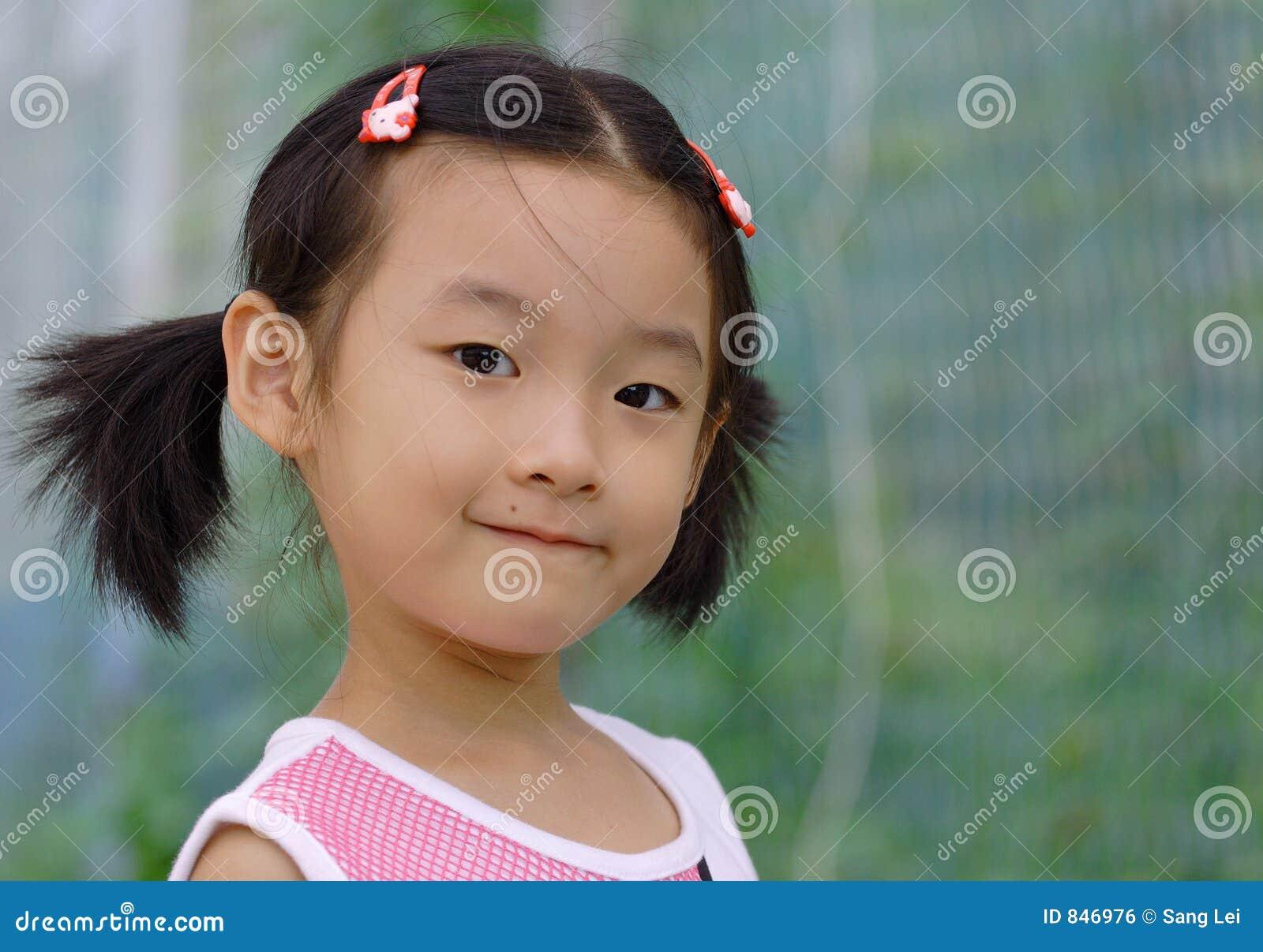 Niños chinos encantadores