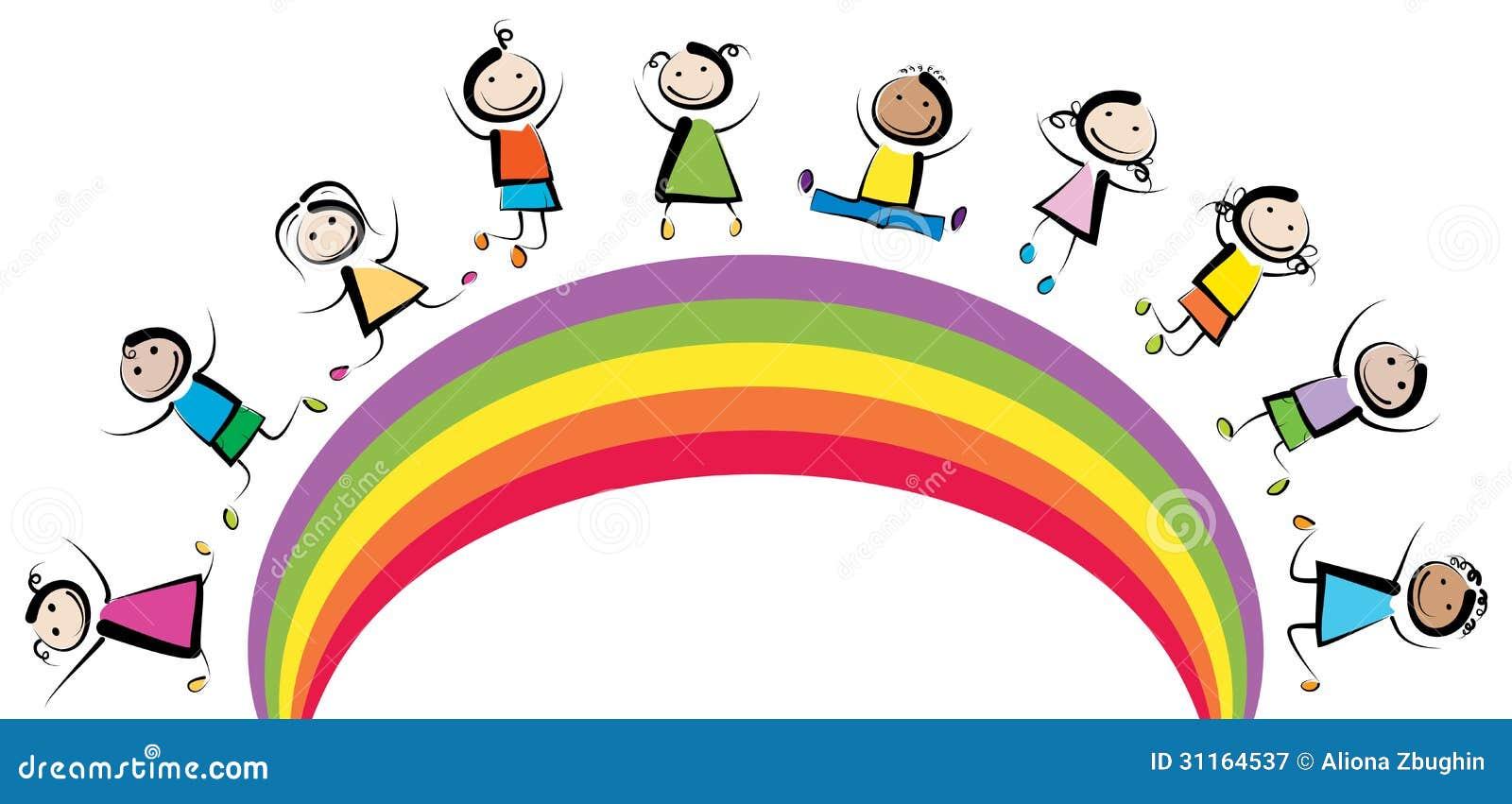 Niños del arco iris