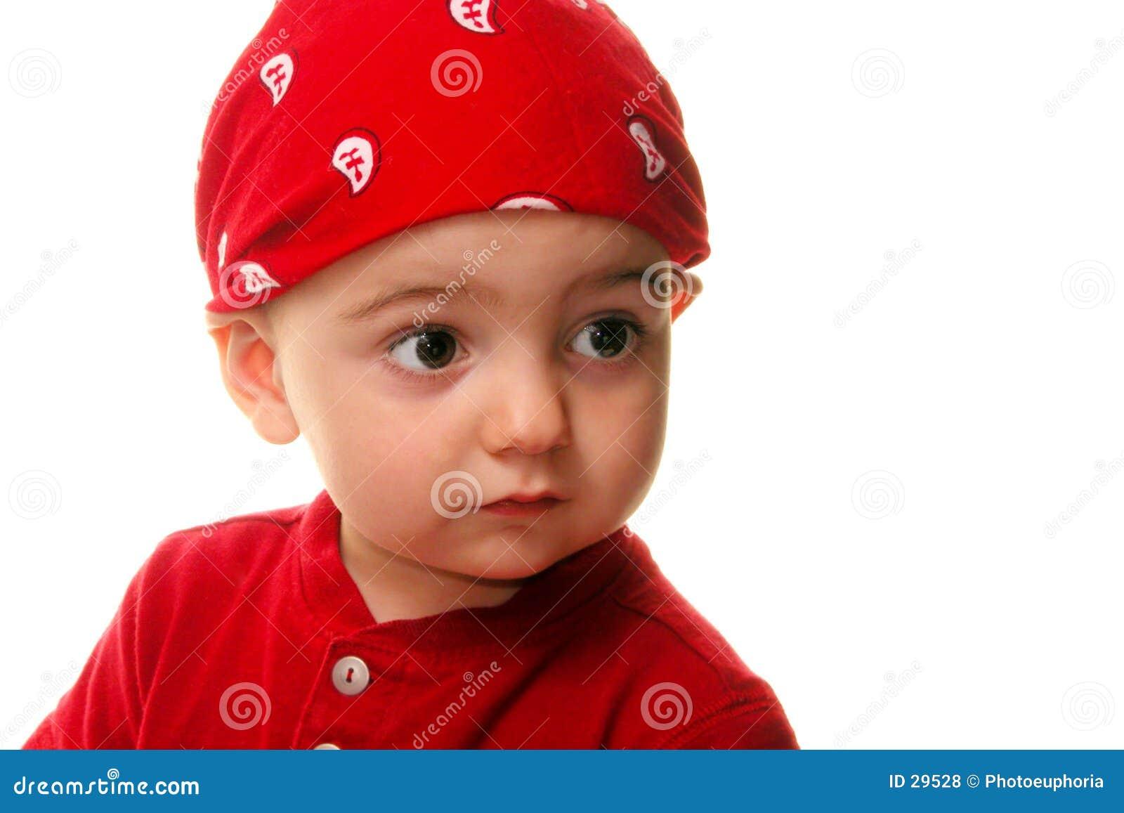 Download Niños: El Desgastar Del Muchacho Hace El Trapo Foto de archivo - Imagen de paisley, pañuelo: 29528