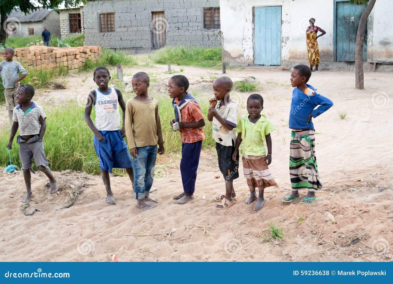 Niños en Tanzania