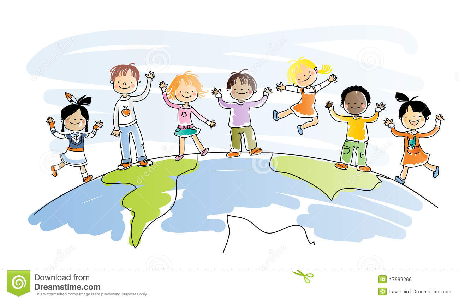 Niños multiculturales