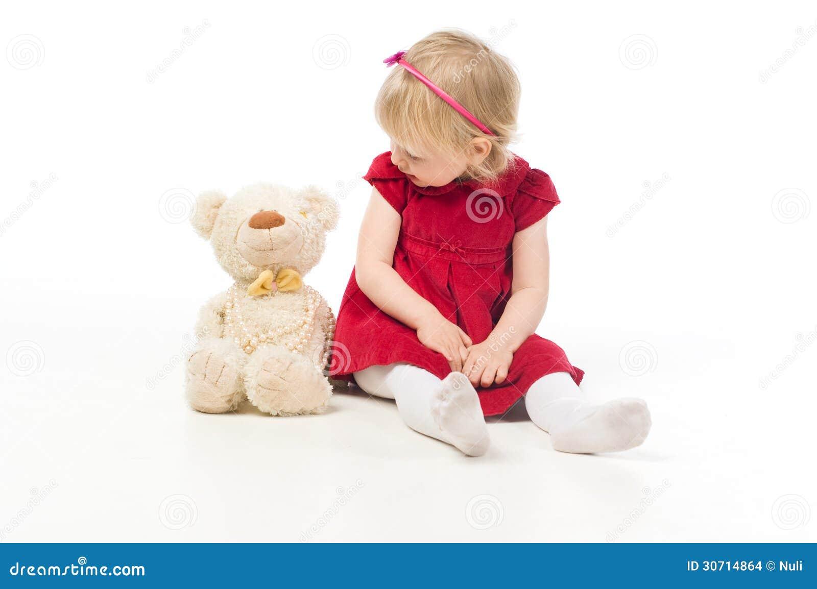 Ni a que habla con el oso del juguete imagenes de archivo for Espejo que habla juguete