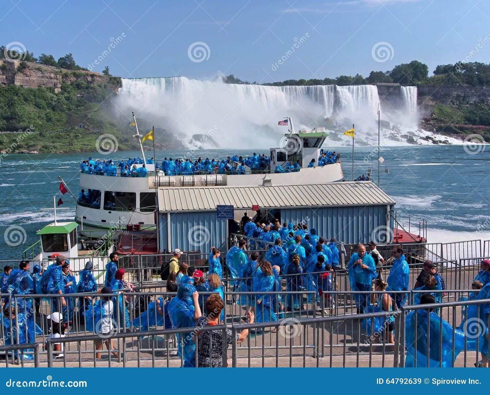 Niagara Falls de dessous