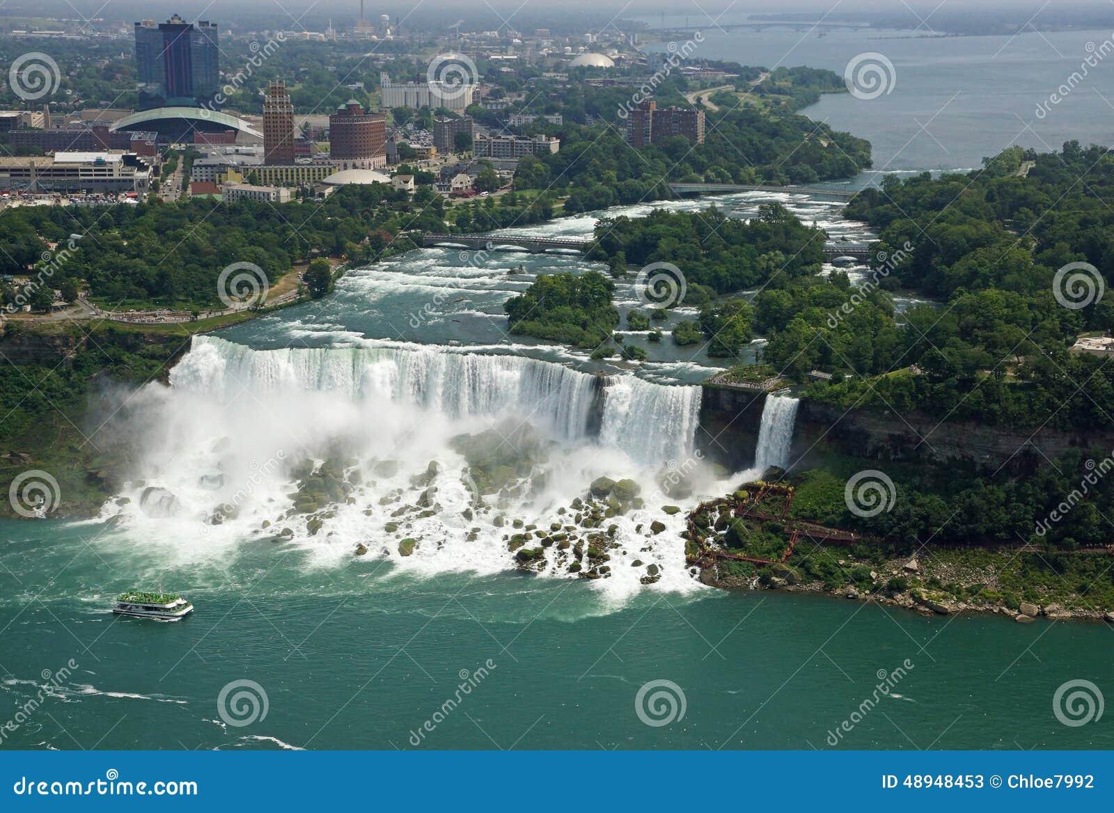Niagara Falls Ny Stock Image Image Of Blue Fall States