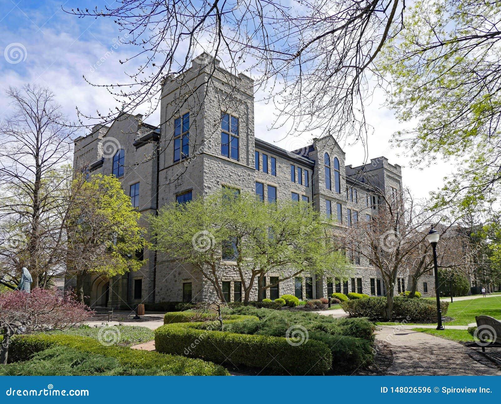 Niagara Falls Ny Niagara University Campus Stock Photo