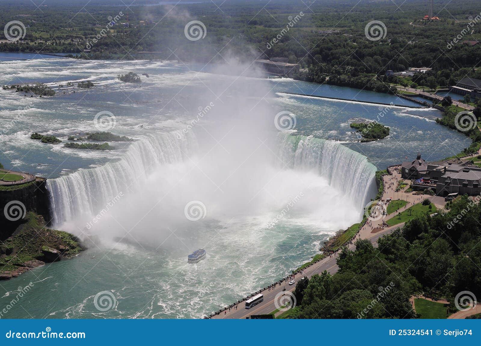 Niagara Falls. Ontario. Canada. Stock Image - Image: 25324541
