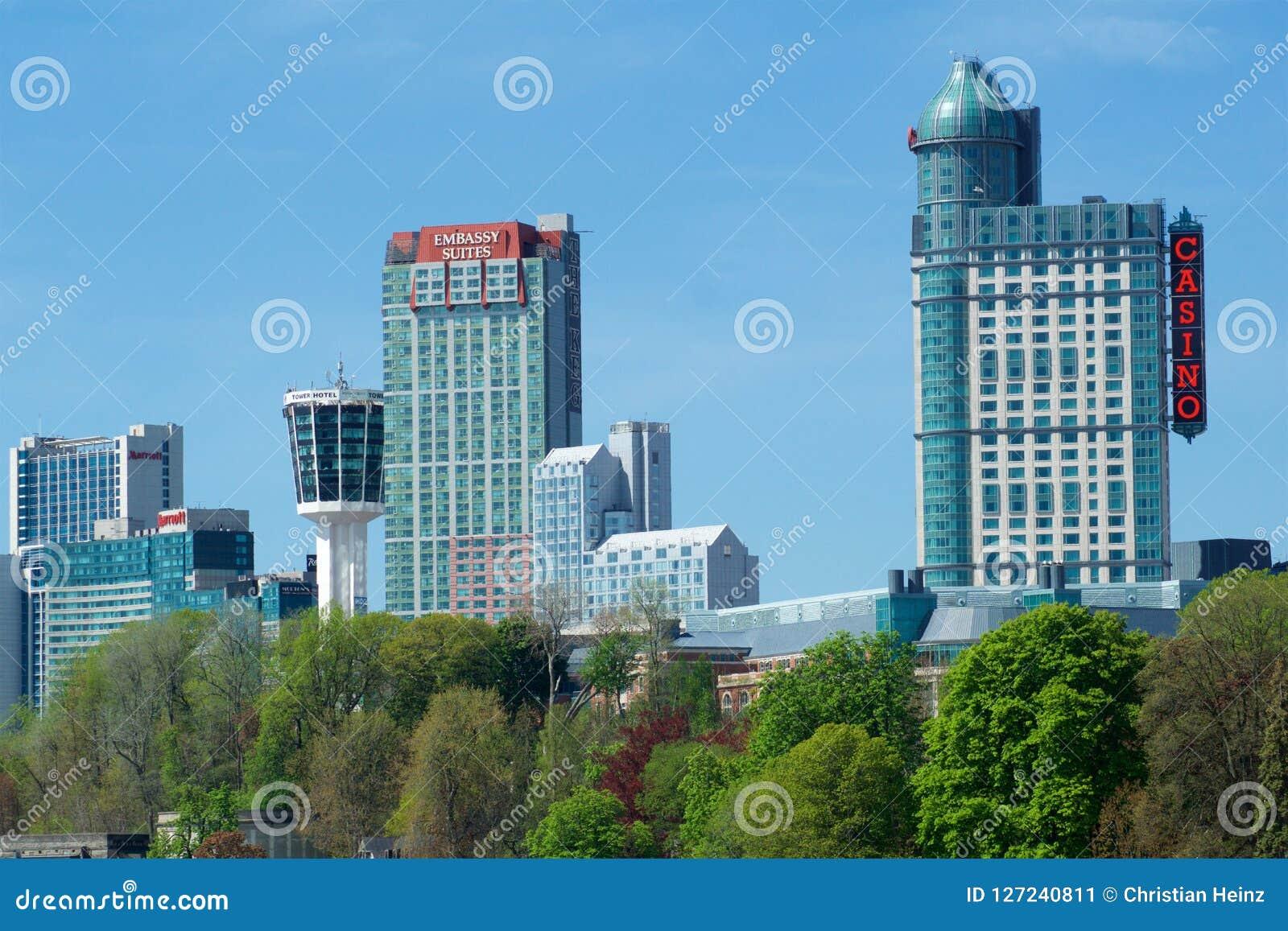 Niagara Falls Ontario Canada May 21st 2018 Exterior View Of The