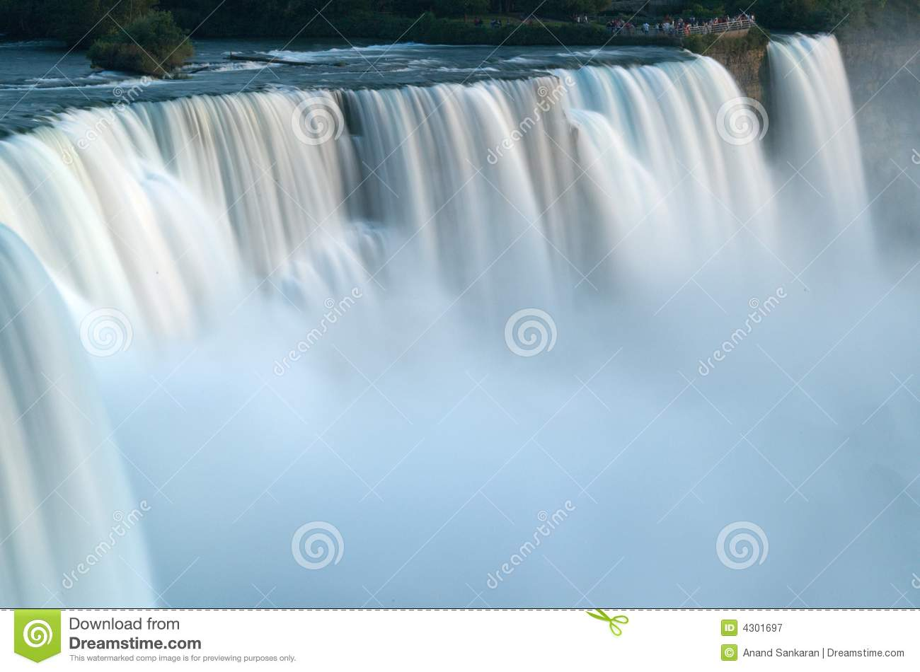 Niagara Falls Slow Flow Royalty Free Stock Photography - Image ...