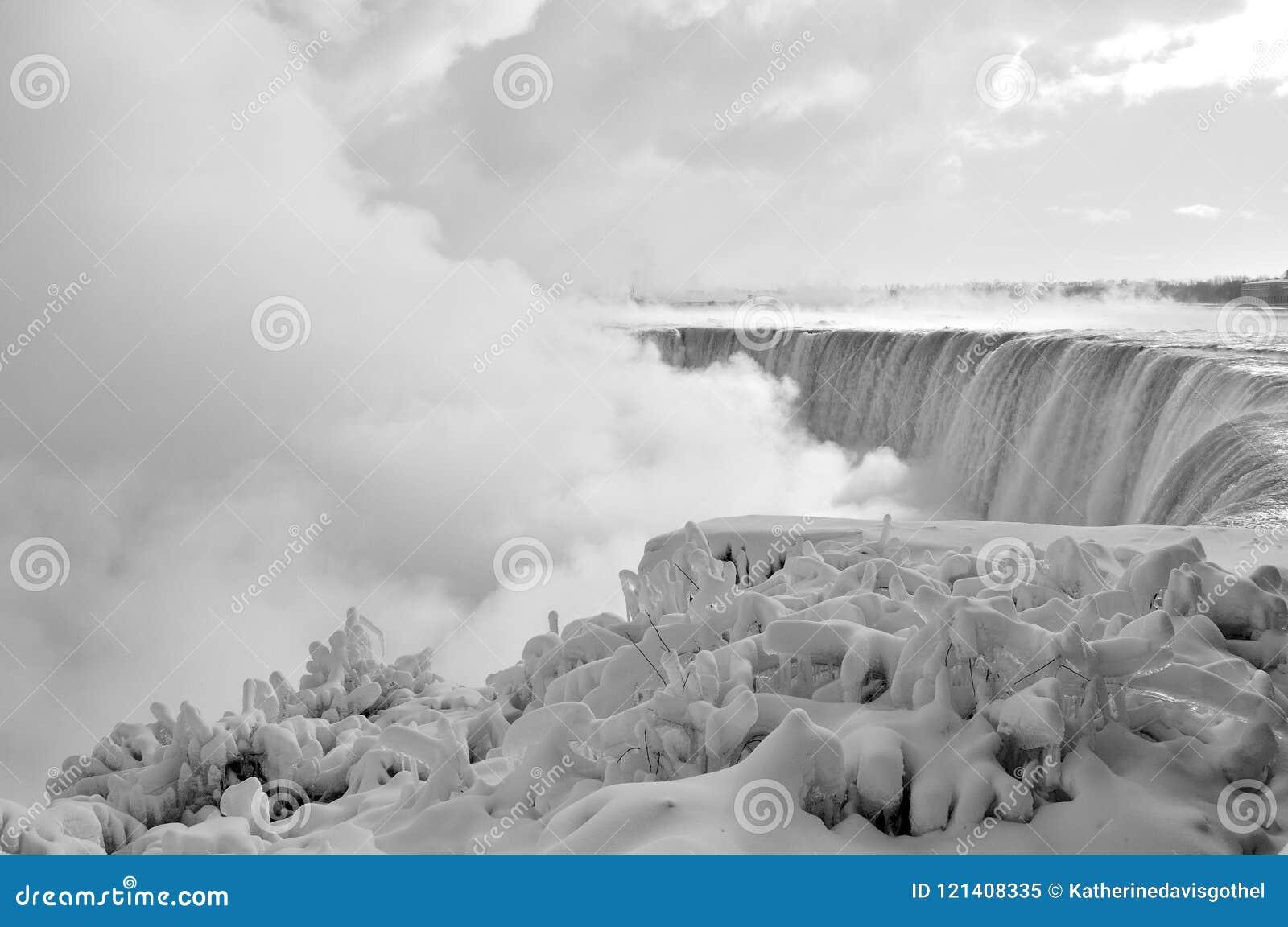 Niagara Falls Ice And Snow Winter 3 Stock Image Image Of