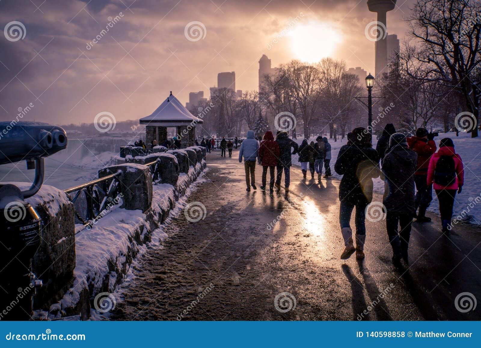Niagara zimy kraina cudów