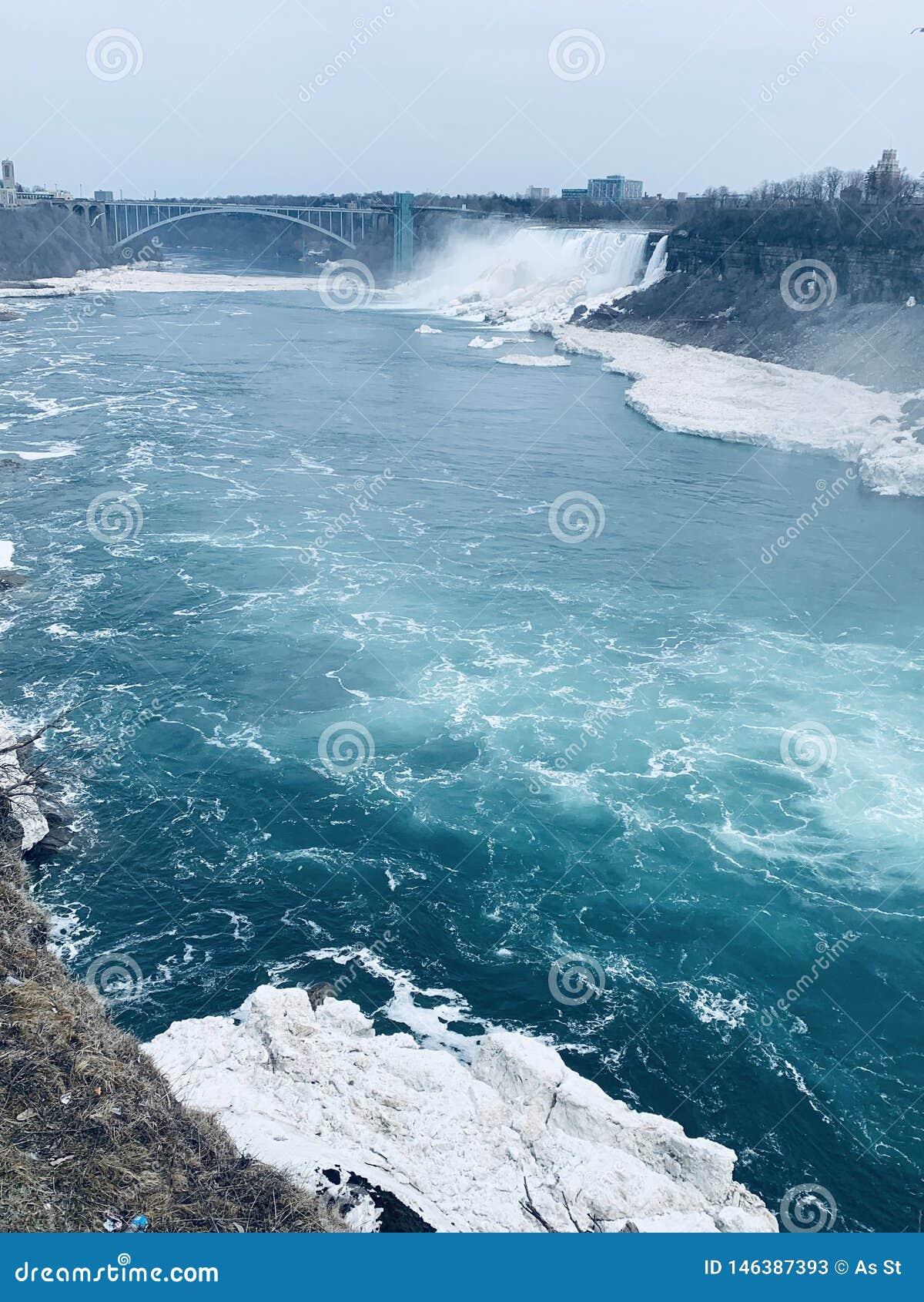 Niagra cai lado canadense