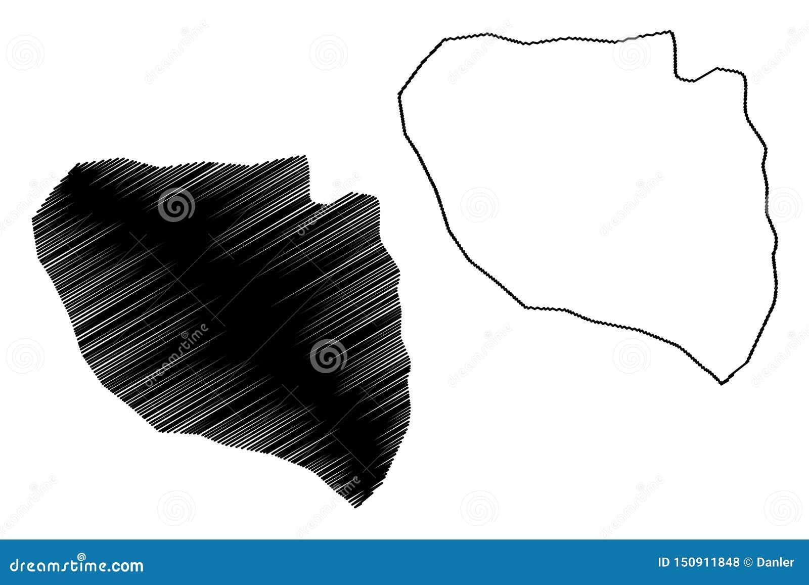 Niamey Region Regions Of Niger, Republic Of The Niger Map ...