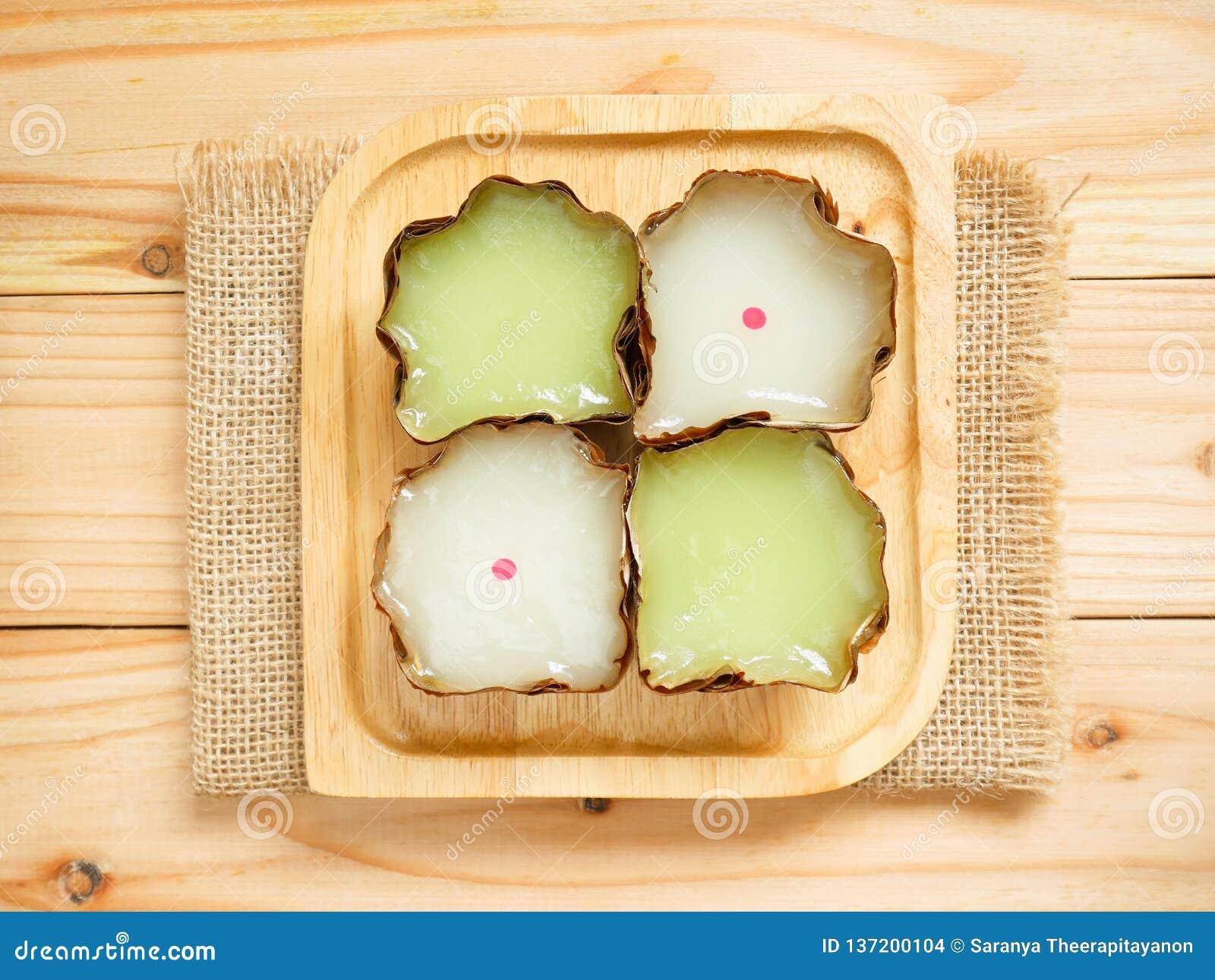 Nian Gao Or Chinese New Year`s Cake Rice Cake Stock Photo - Image of