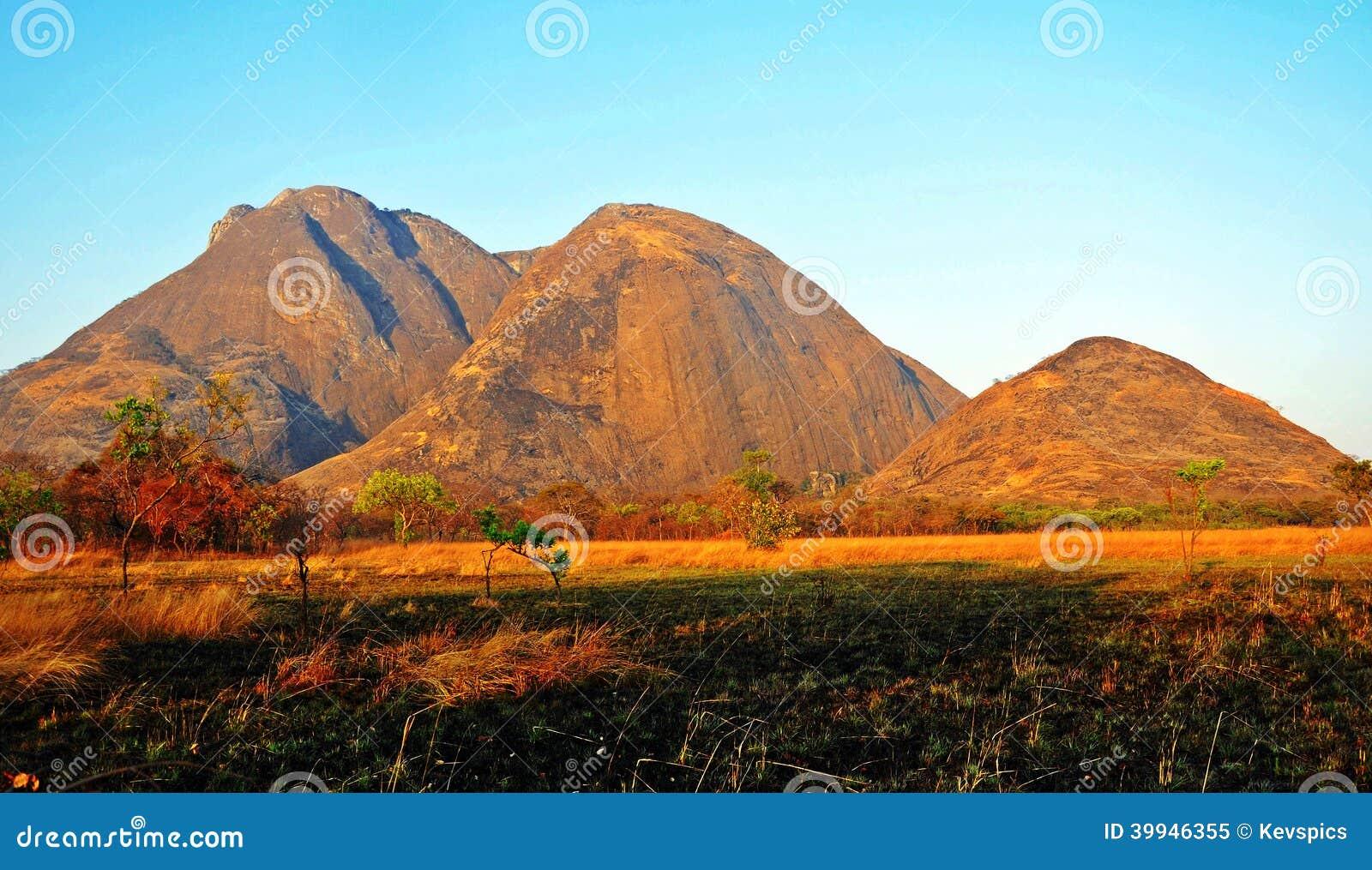 Niassa Province Landscape_Northern Mozambique Stock Photo ...
