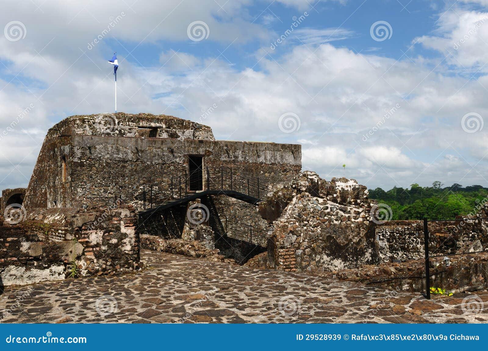 Nicarágua, castelo fortificado em El Castillo