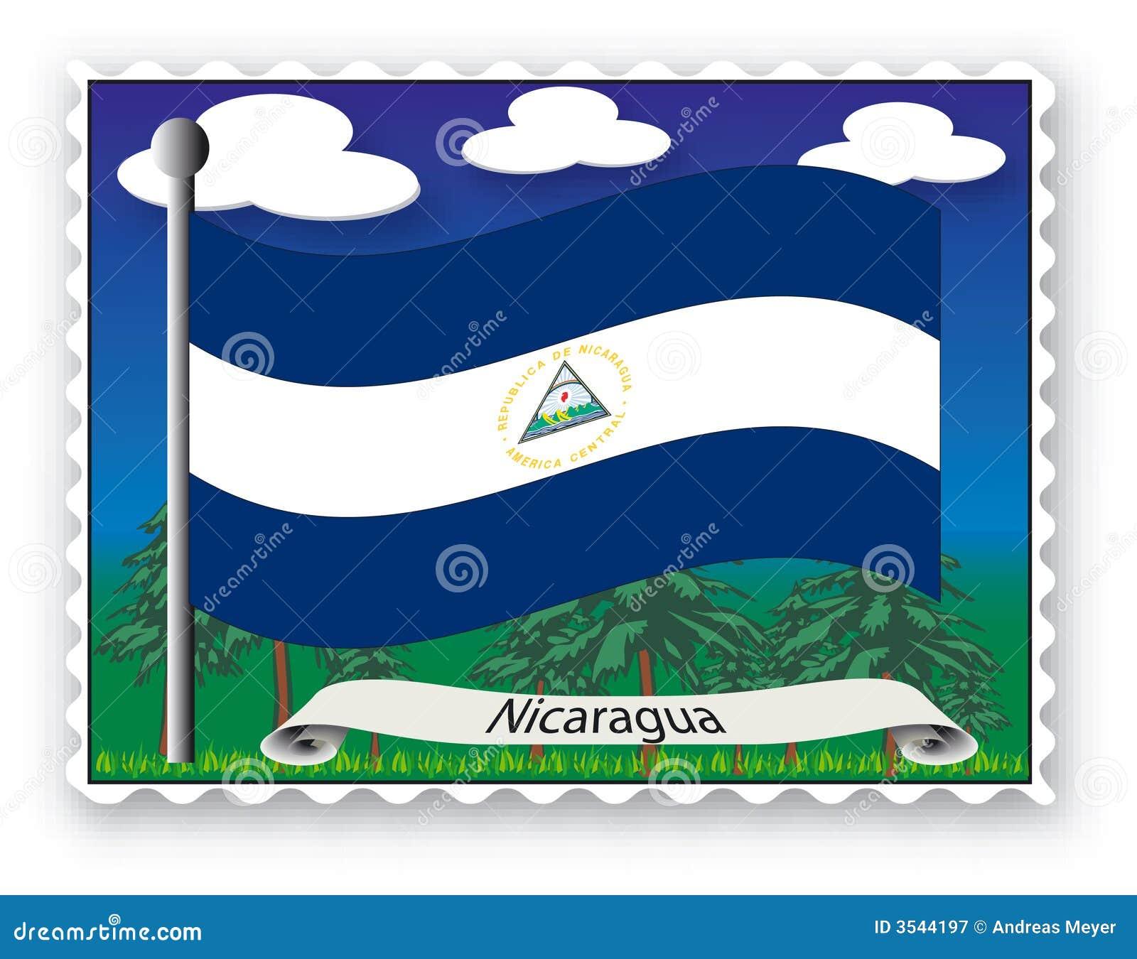 Nicaragua stämpel