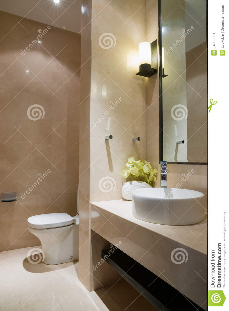 Nice bathroom stock image image 34805691 for Pics of nice bathrooms