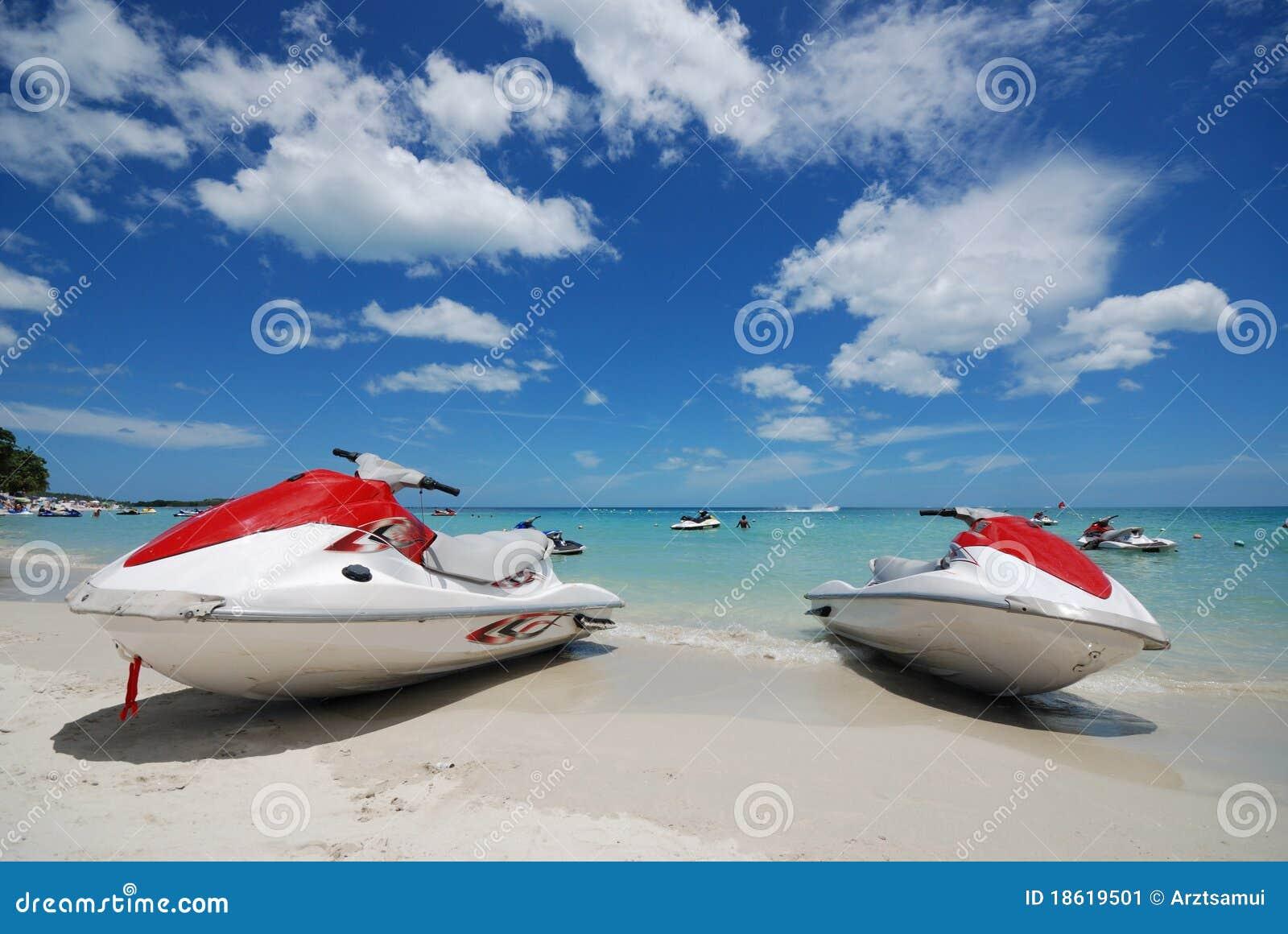 Nice Beach View Stock Image