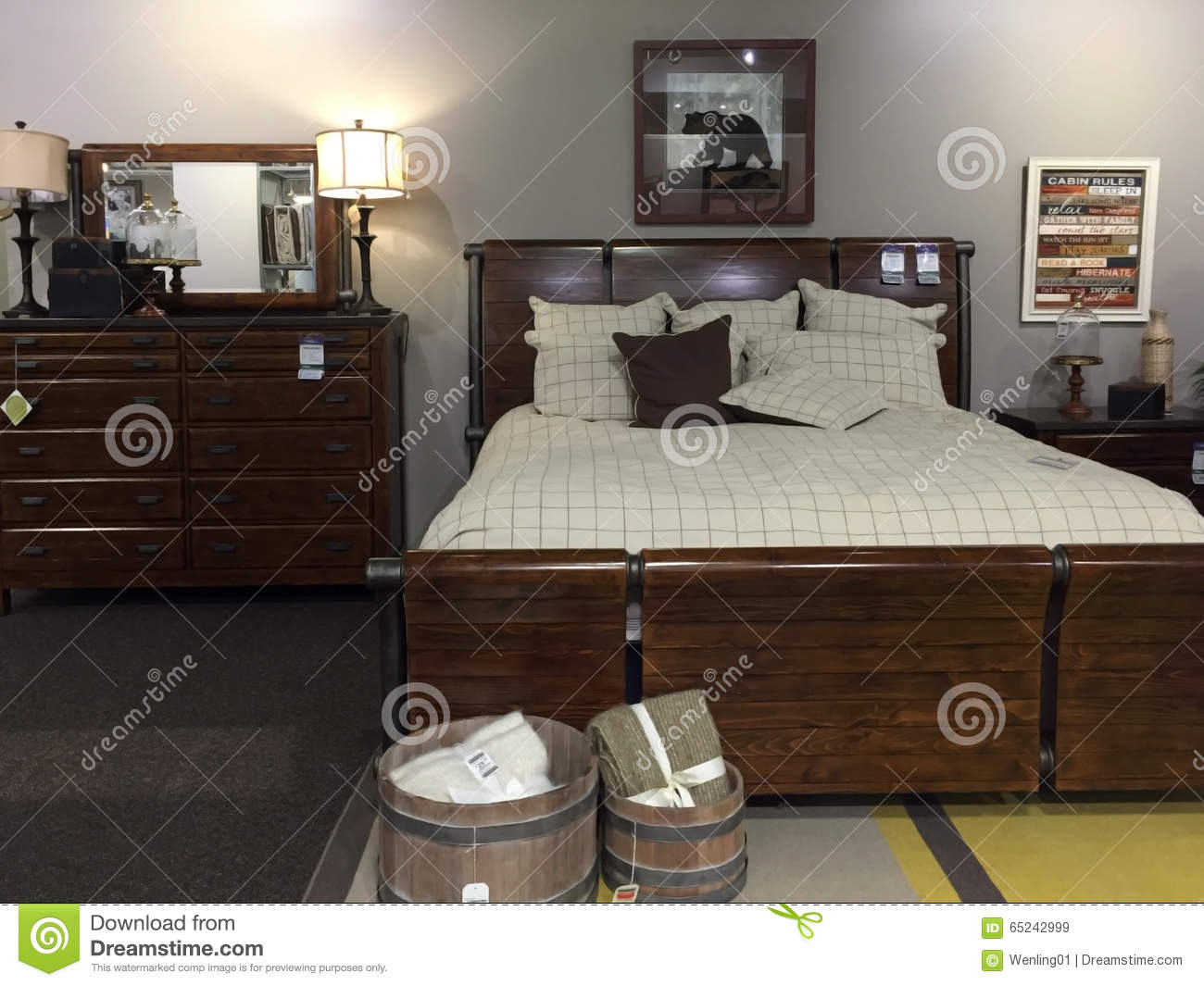 Nice bedroom furniture and furnishings selling editorial Nice bedroom furniture