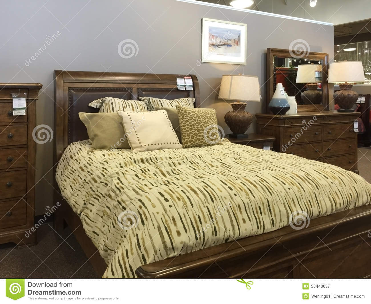 Selling Bedroom Furniture Nice Bedroom Furniture Selling Editorial Photography Image 55440037