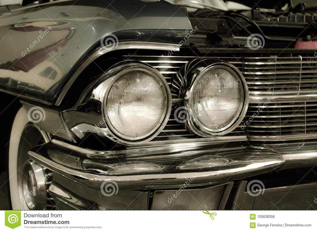 Nice black muscle car stock photo. Image of nice, engine - 105638356