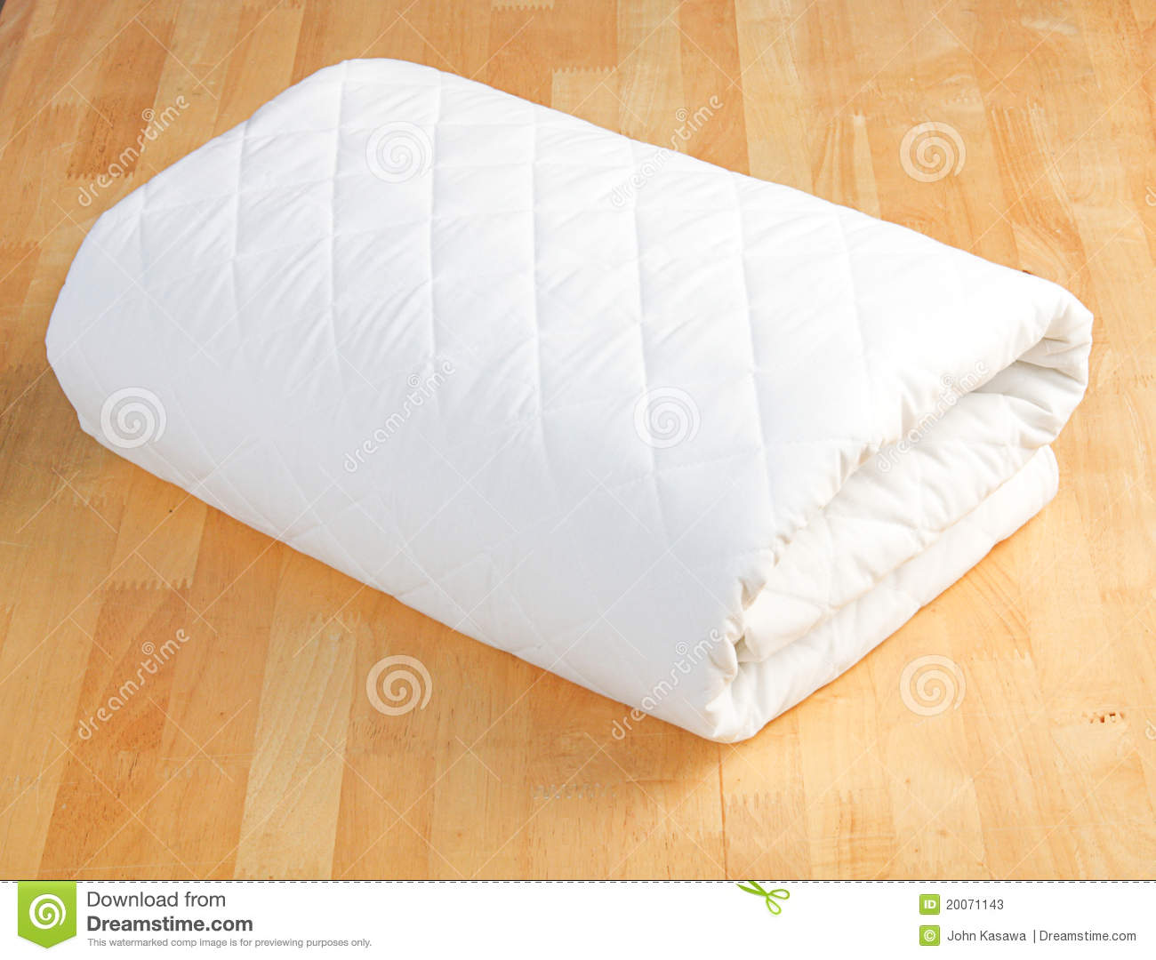 nice and clean blanket on the bedroom floor stock photos
