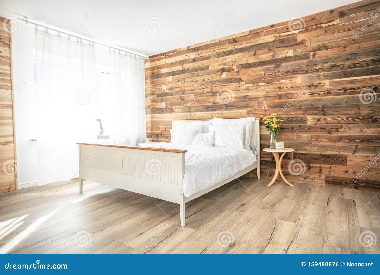 Nice Boho Interior Style Bedroom Stock Photo Image Of Comfortable Bohemian 159480876