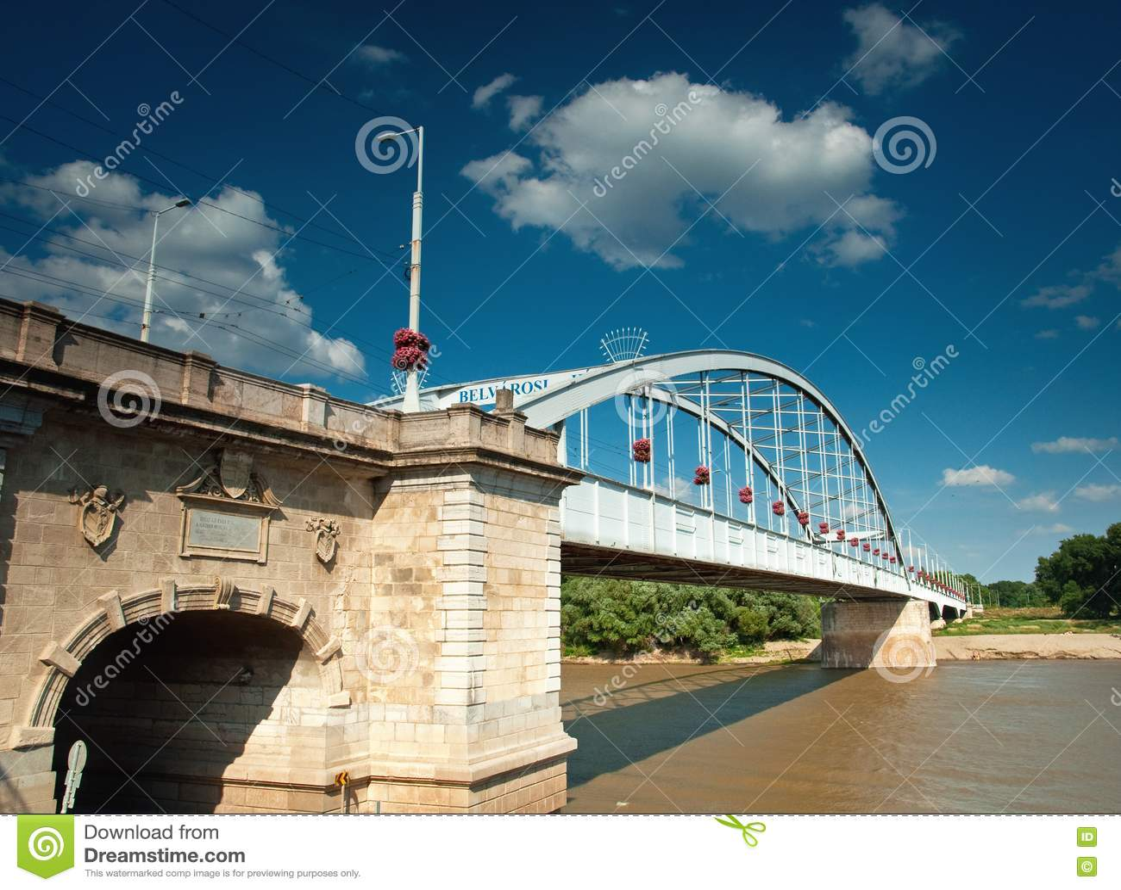 Nice Bridge Royalty Free Stock Photo