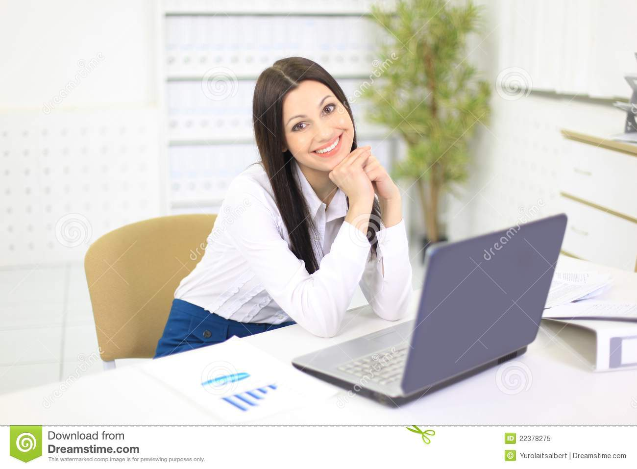 nice person office. Royalty-Free Stock Photo Nice Person Office I