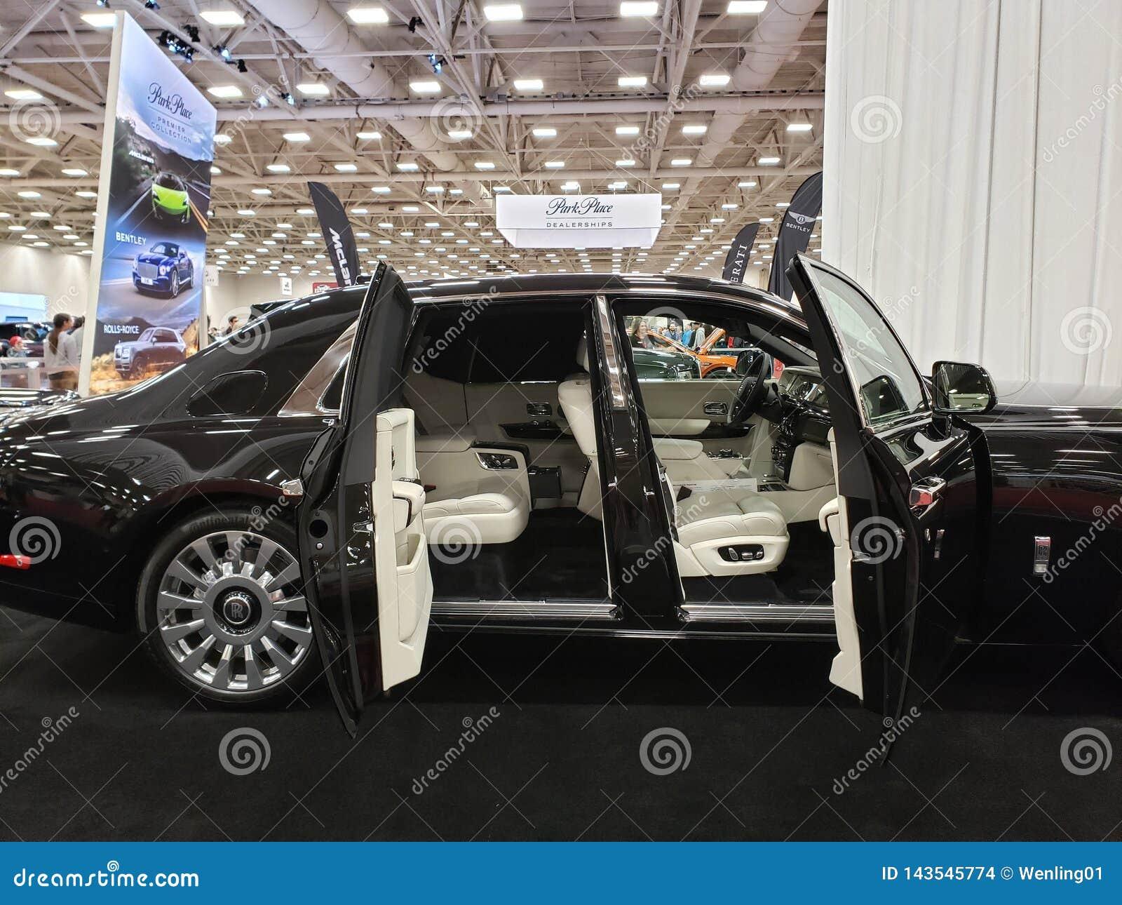Dallas Car Show >> Dfw Auto Show Dallas Tx Usa 2019 Editorial Stock Image
