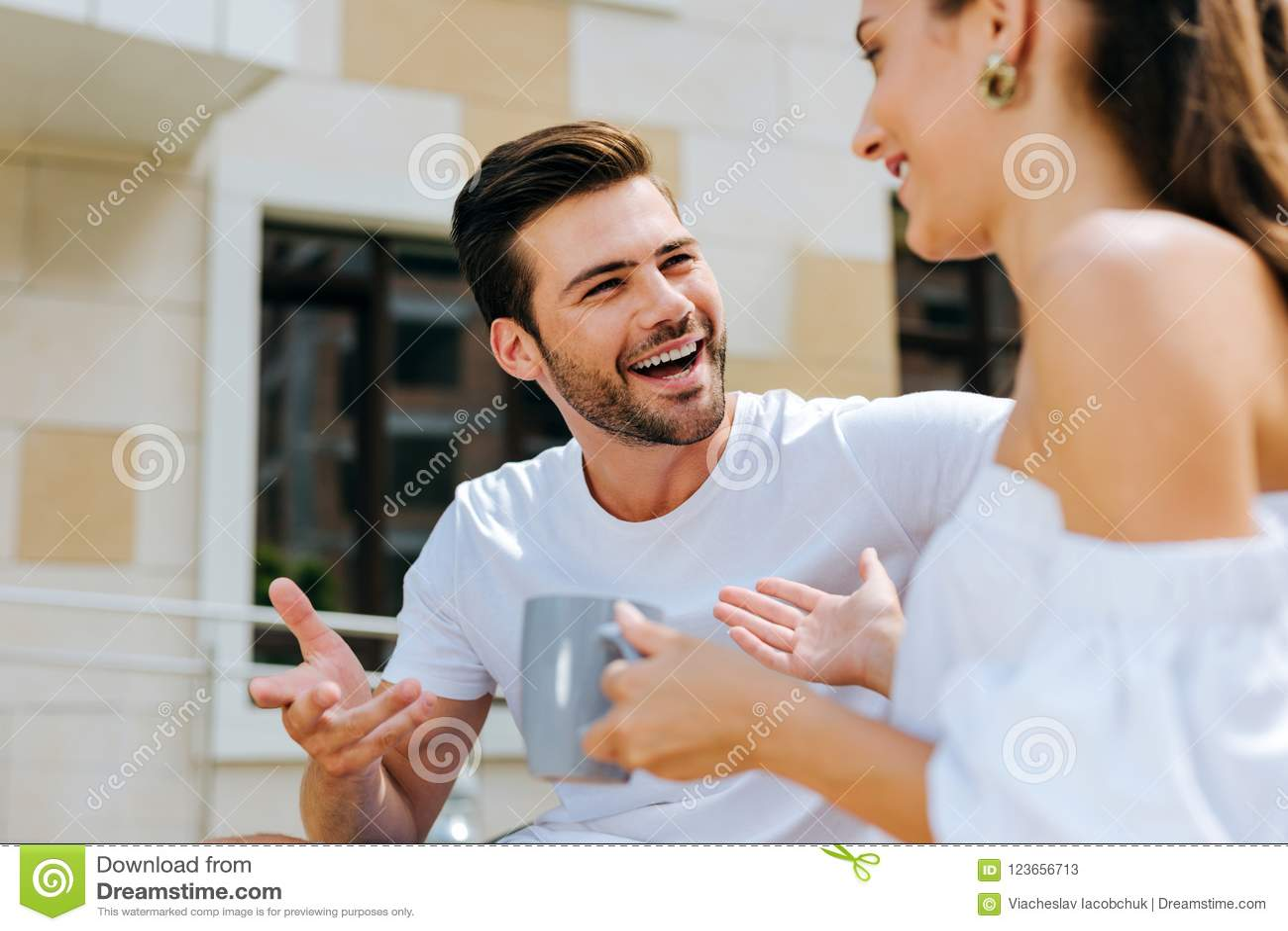 man to man conversation