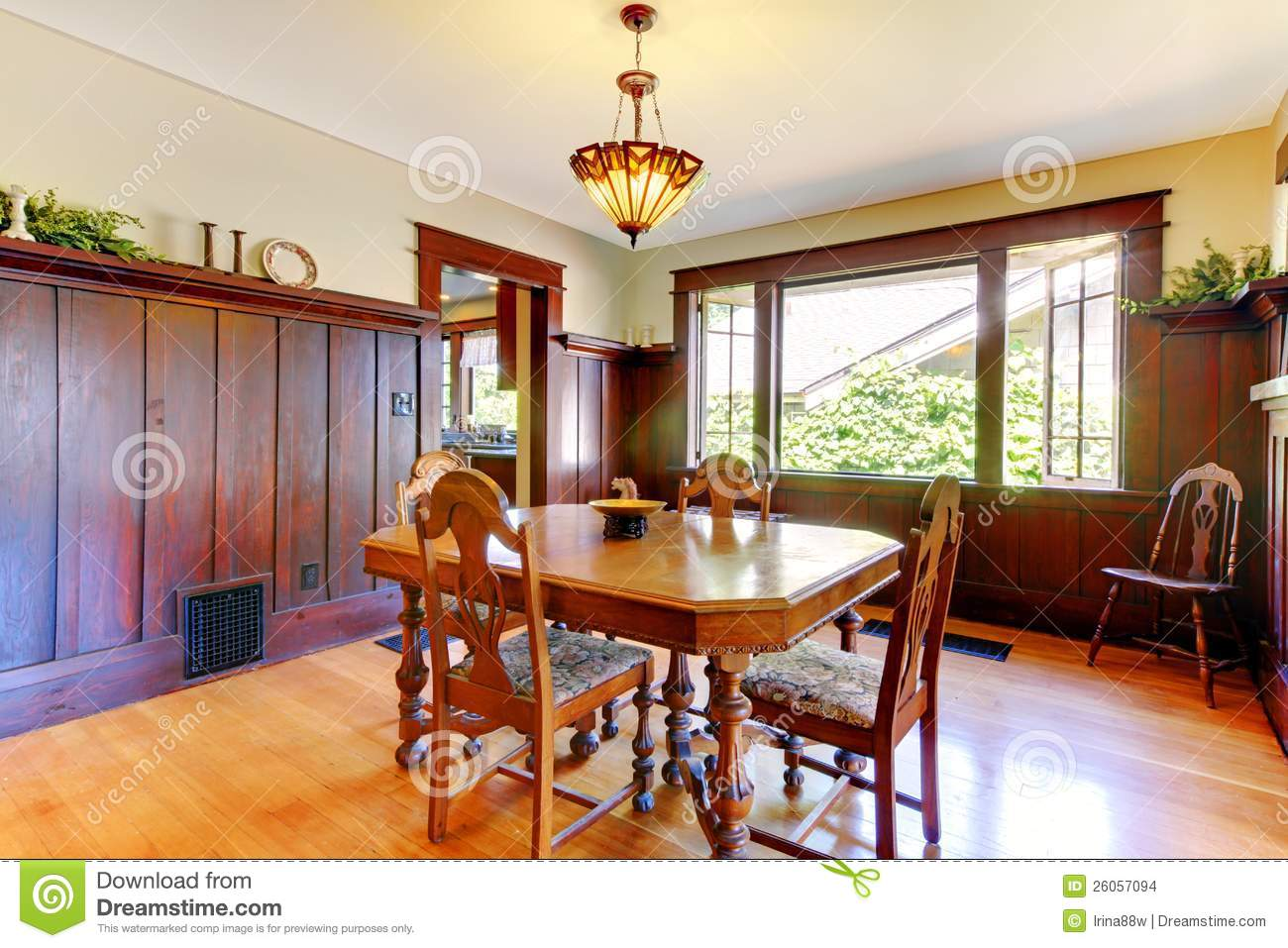 Nice dining room stock photography for Nice dining room pictures