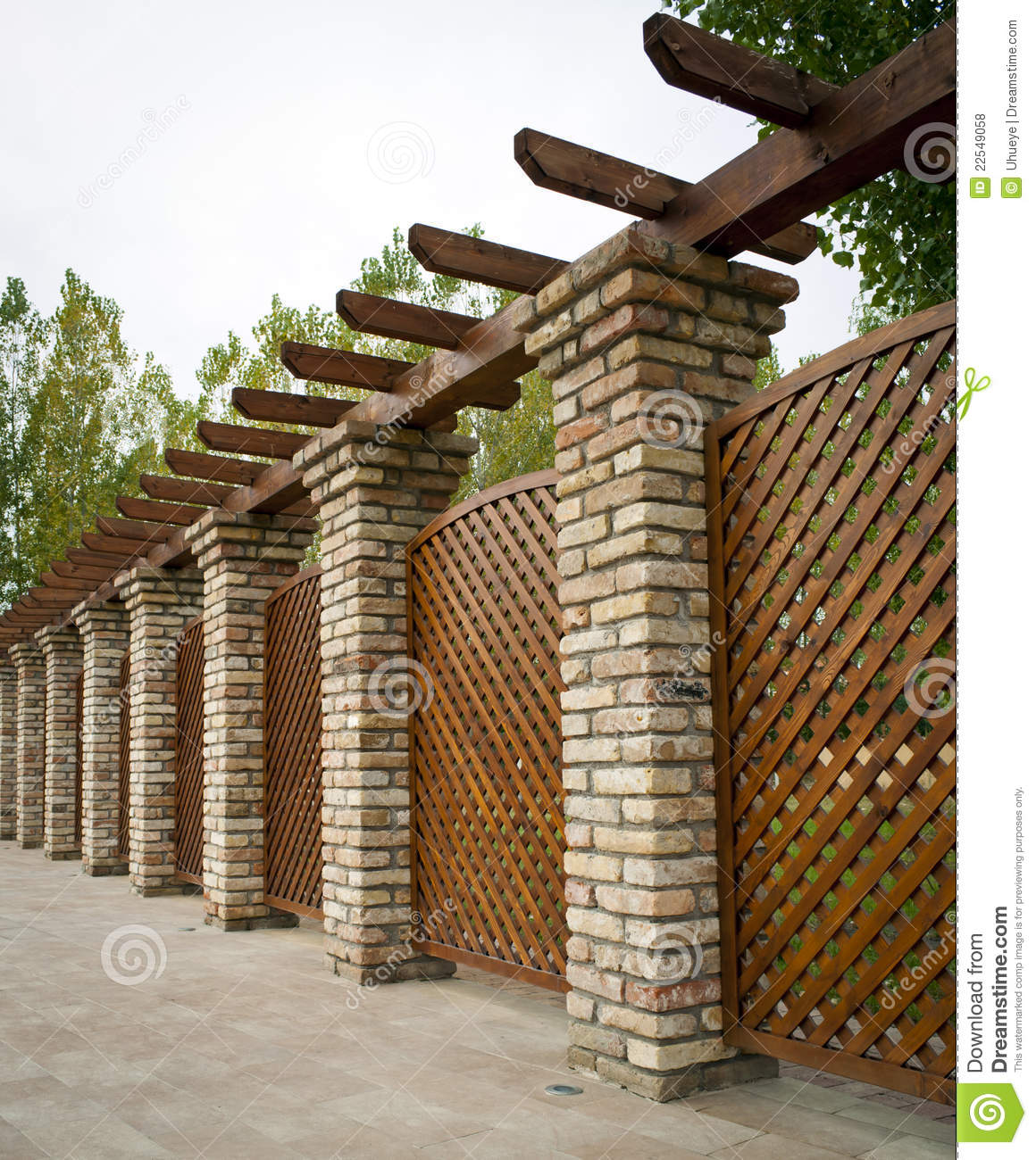 Nice Apartments Near Me: Nice Fence Near The New Apartments Royalty Free Stock