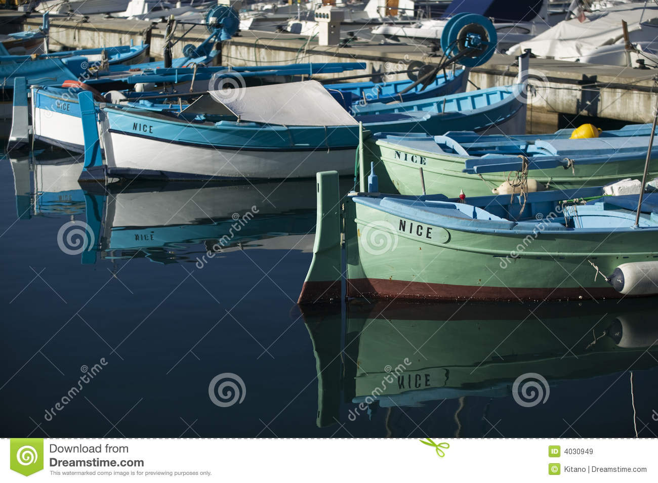 Nice fishing boats at harbor royalty free stock images for Nice fishing boats