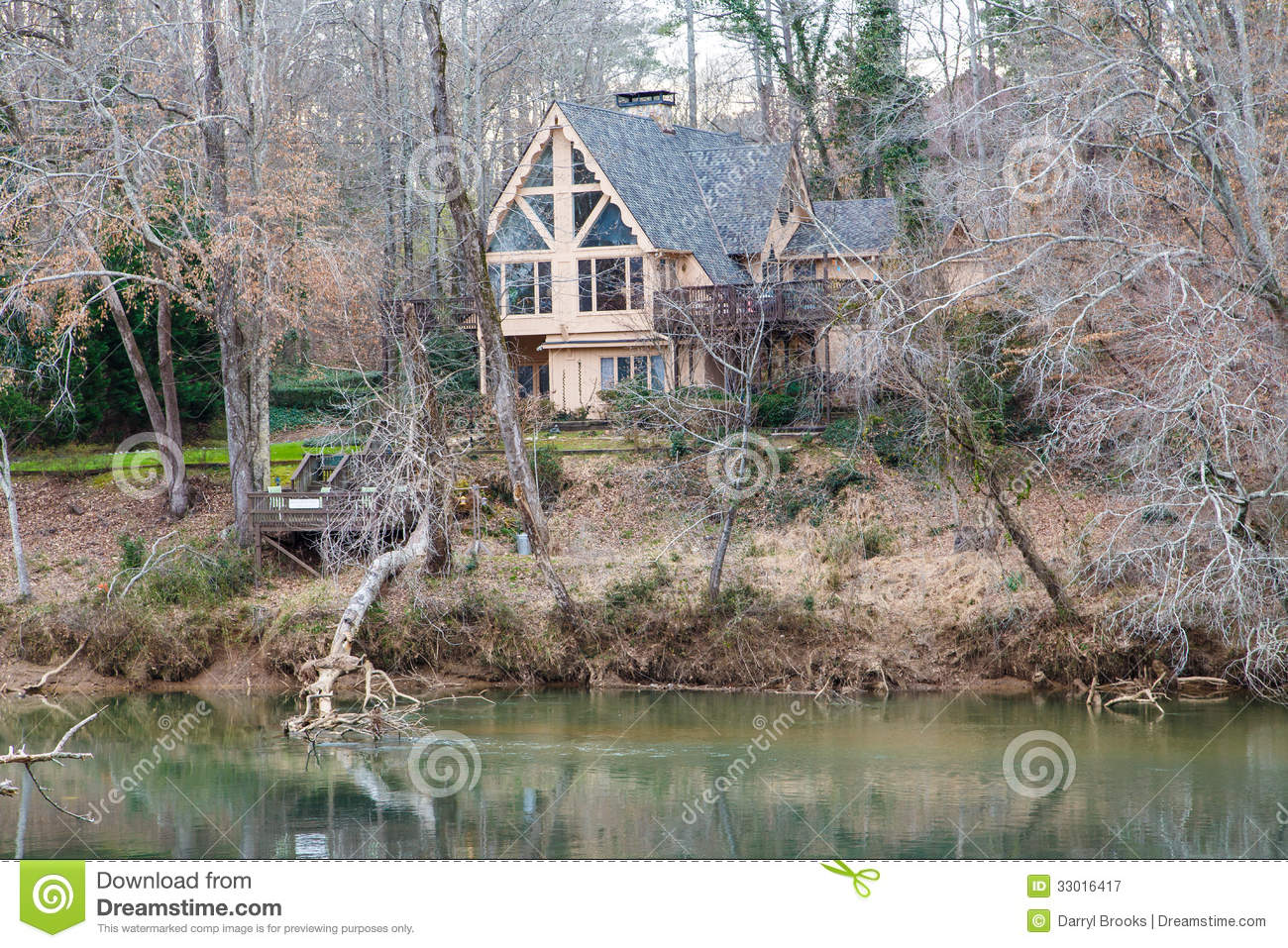 Nice A-frame house in Forest