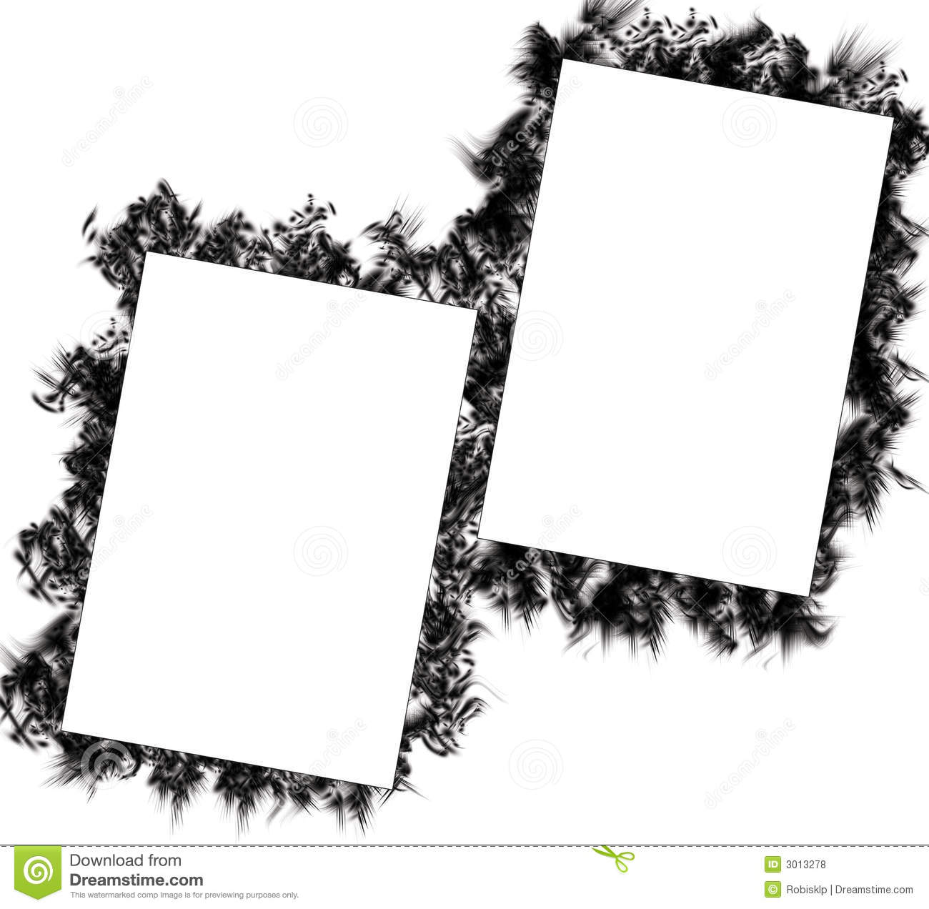 nice grunge frames stock illustration illustration of border 3013278