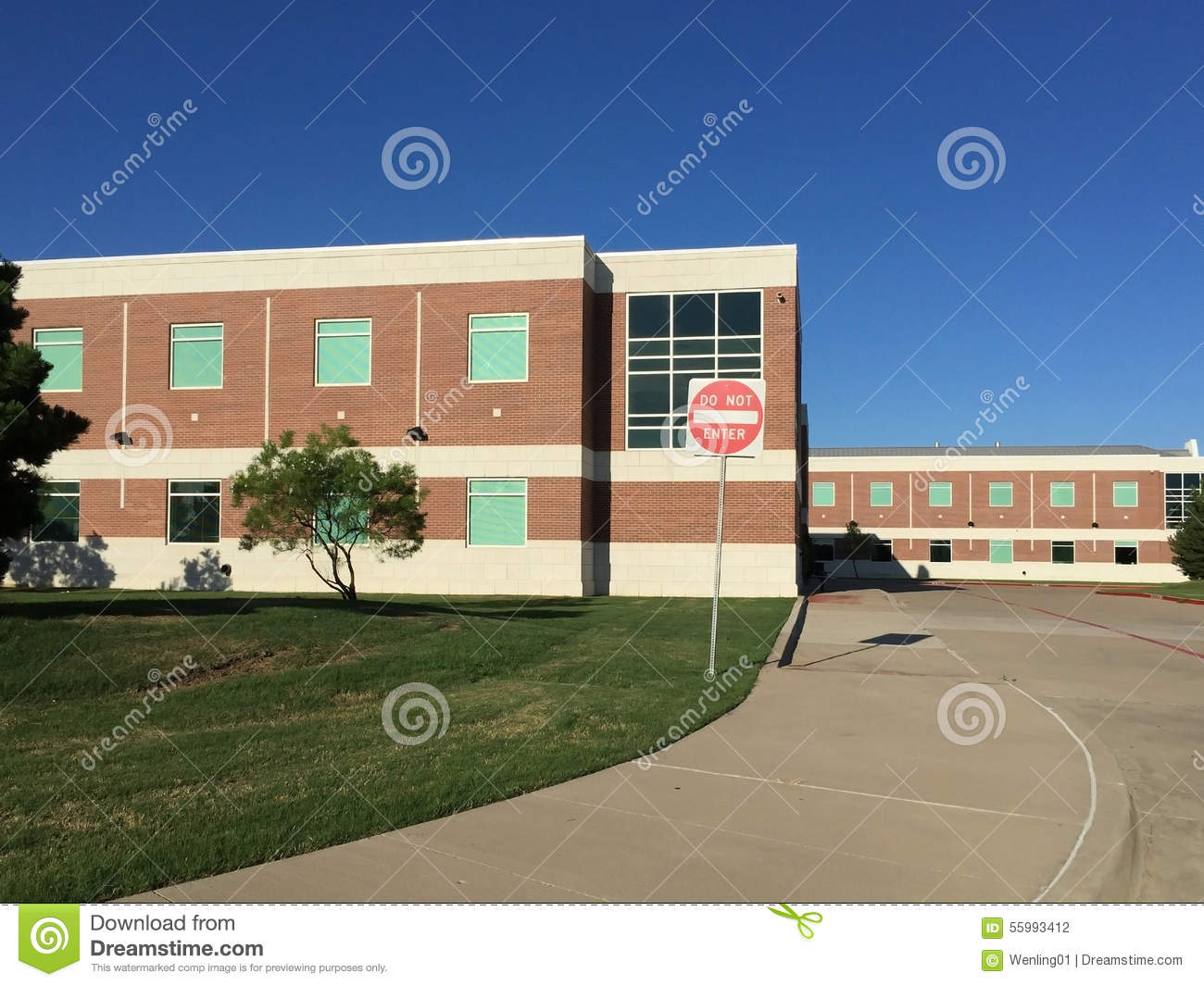 Nice high school building stock photo image 55993412 for Nice building images
