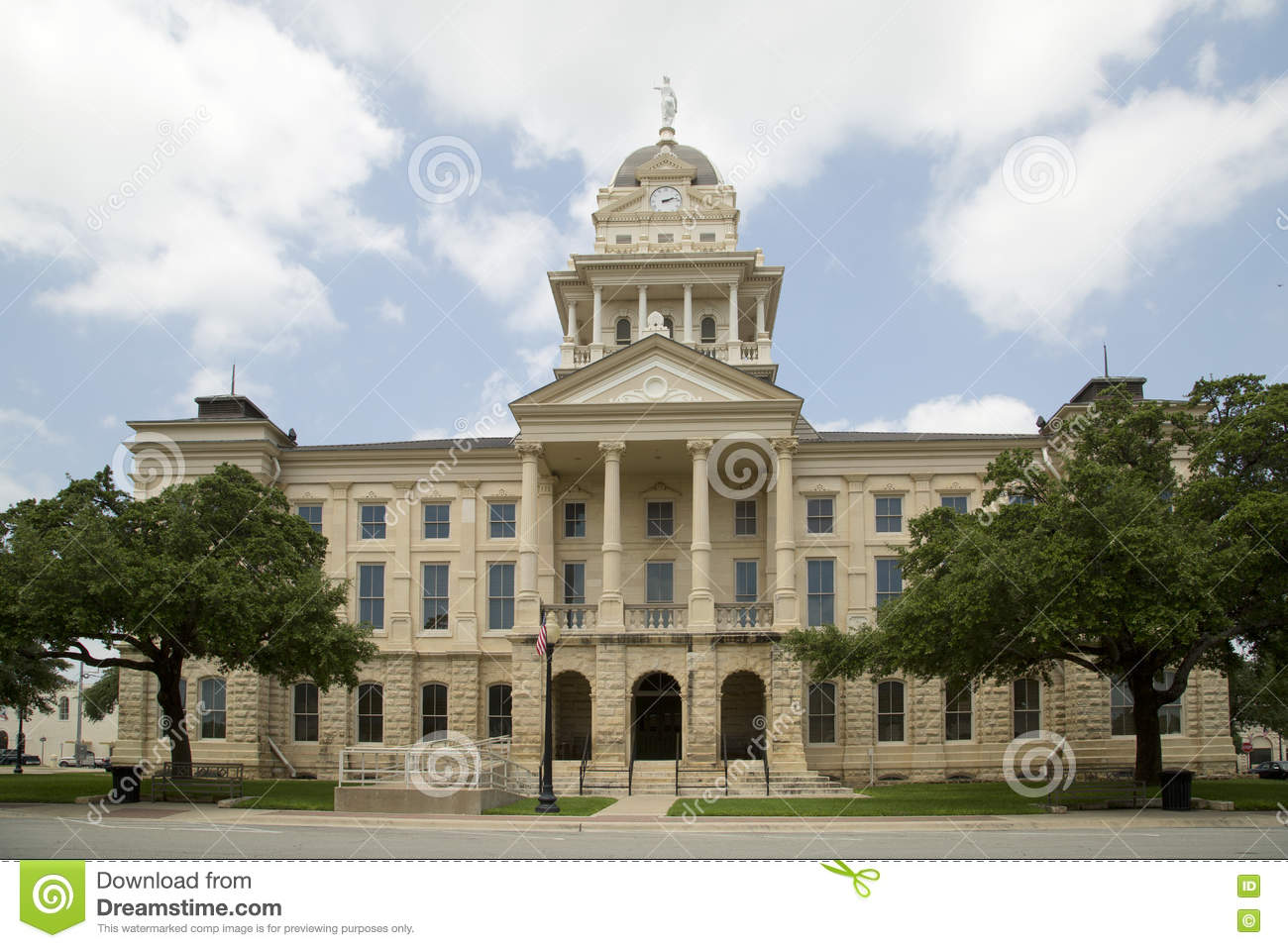 Nice historic building bell county courthouse stock photo for Nice building images