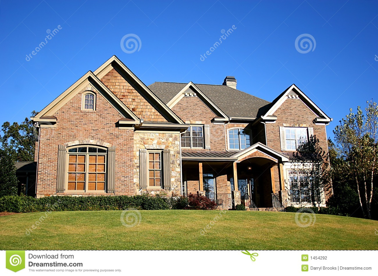 Nice house stock photography image 1454292 for Nice house picture
