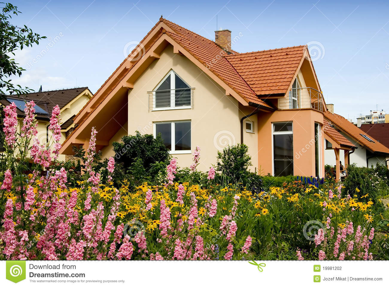 Nice house stock photography image 19981202 for Nice home image