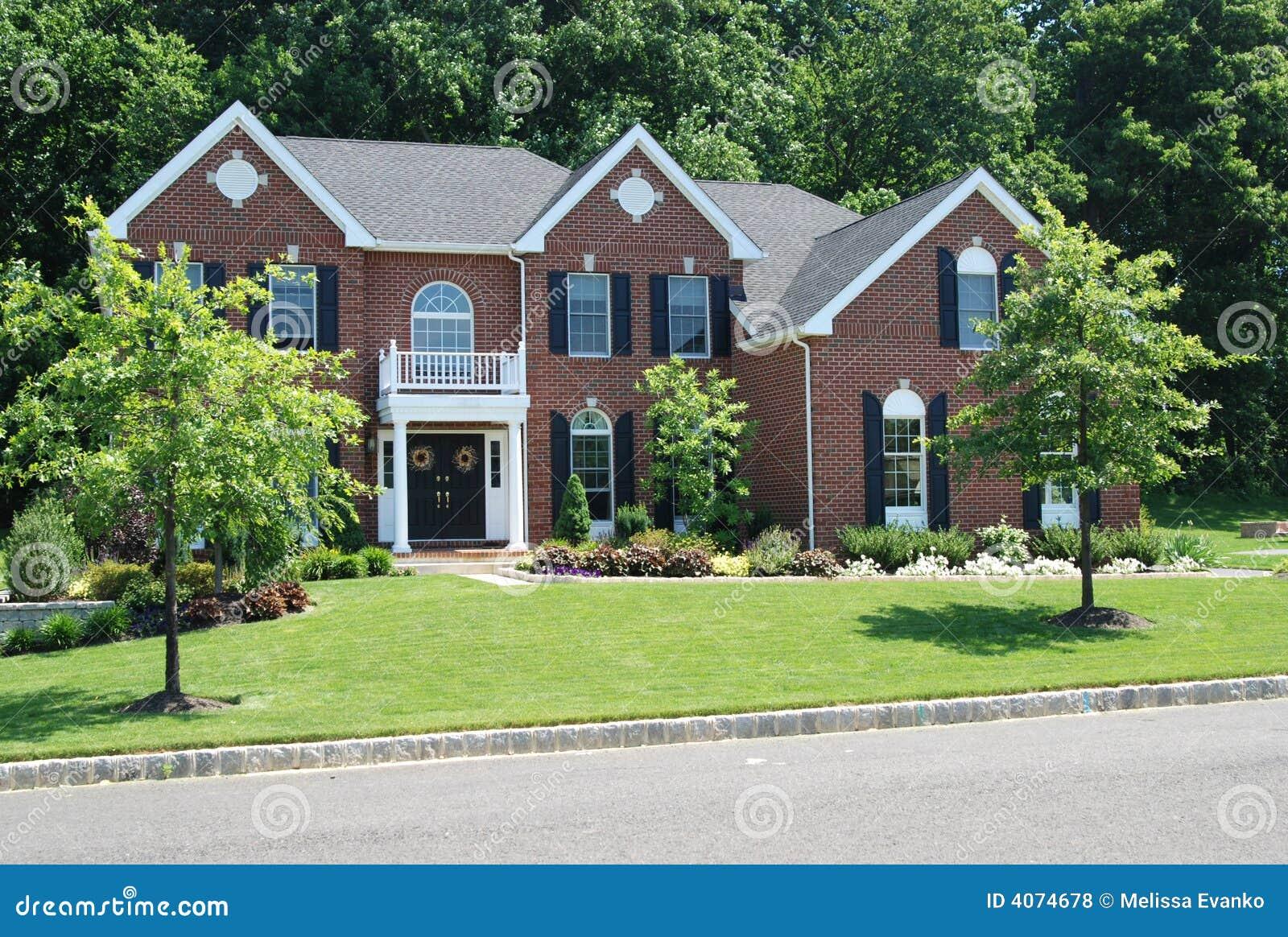 Nice House Royalty Free Stock Photos Image 4074678