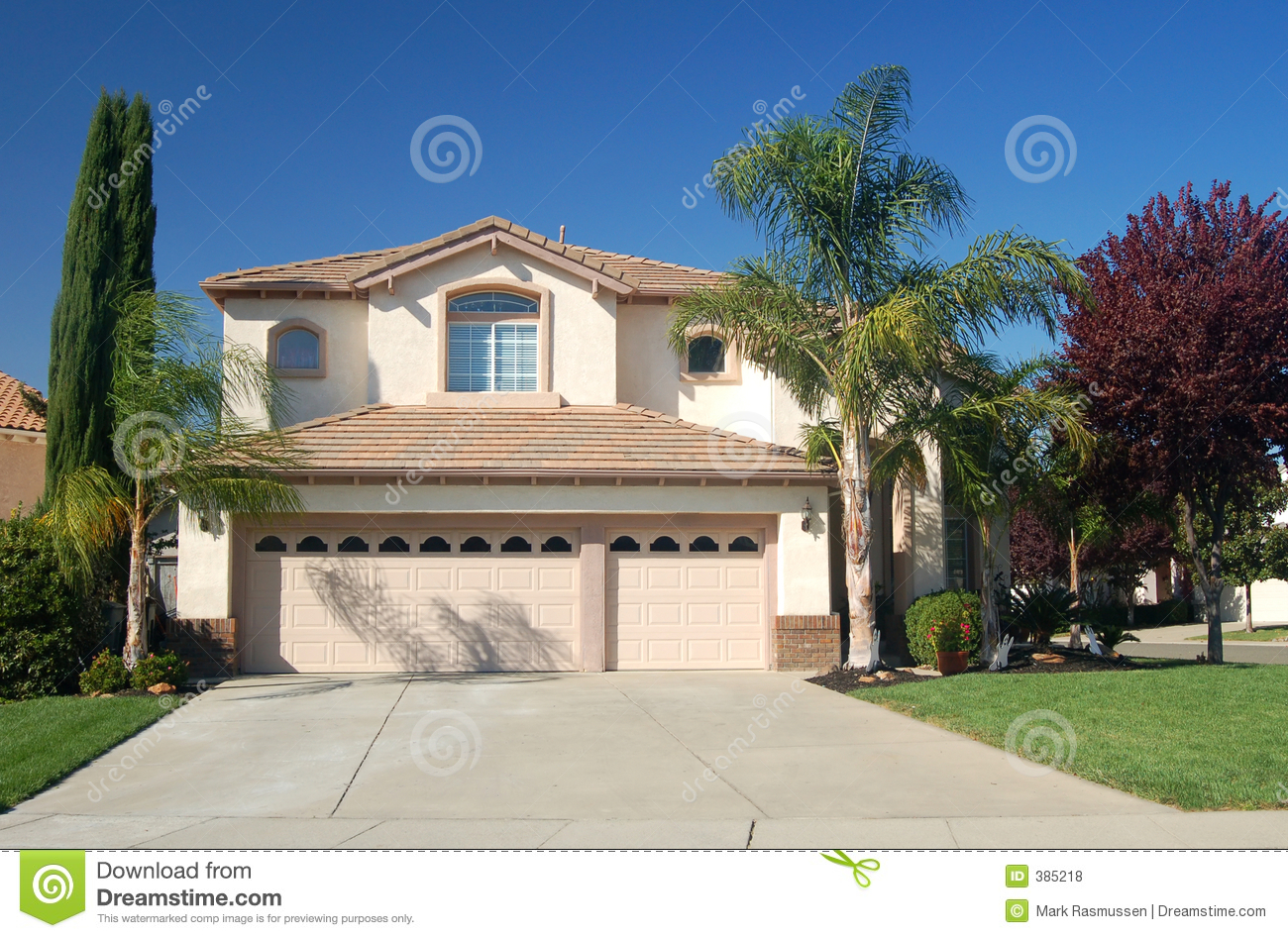Nice house in california stock photo image of nice for Nice house picture