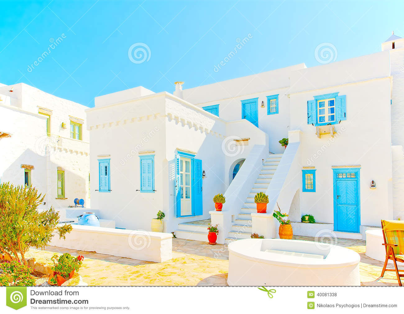 Old beautiful traditional house in chora the capital of amorgos island - Nice House