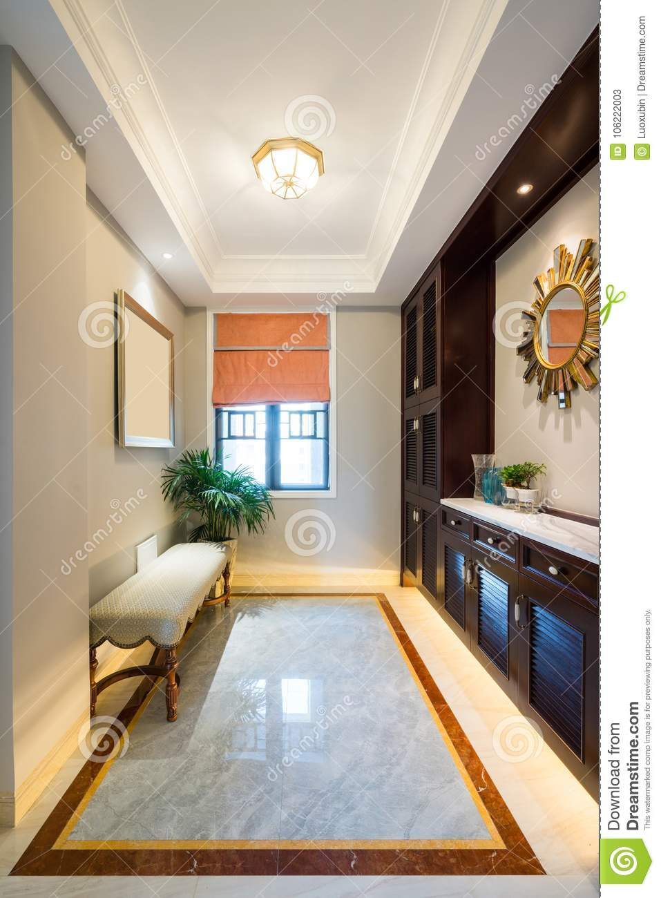Nice House Interior Stock Image Image Of Wood Floor 106222003
