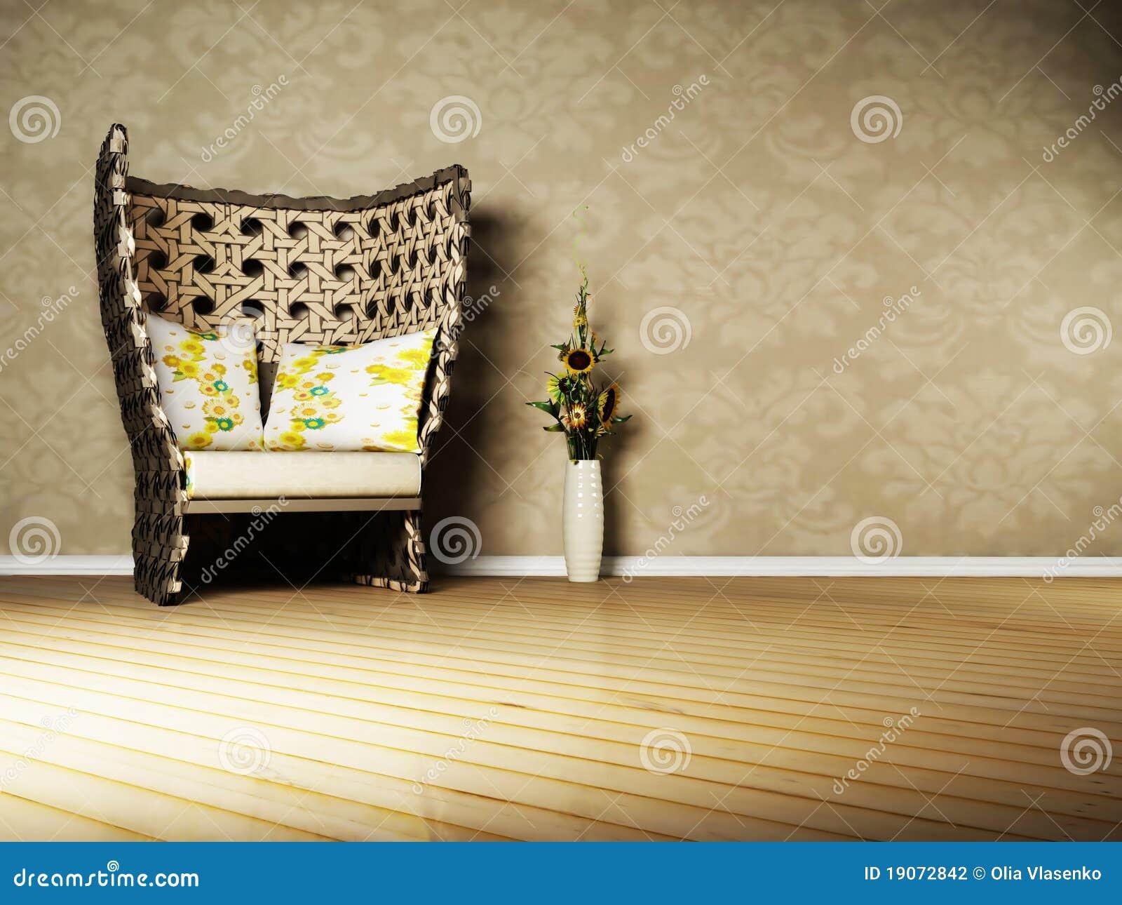 Nice interior design of living room stock photography for Nice interior design living room