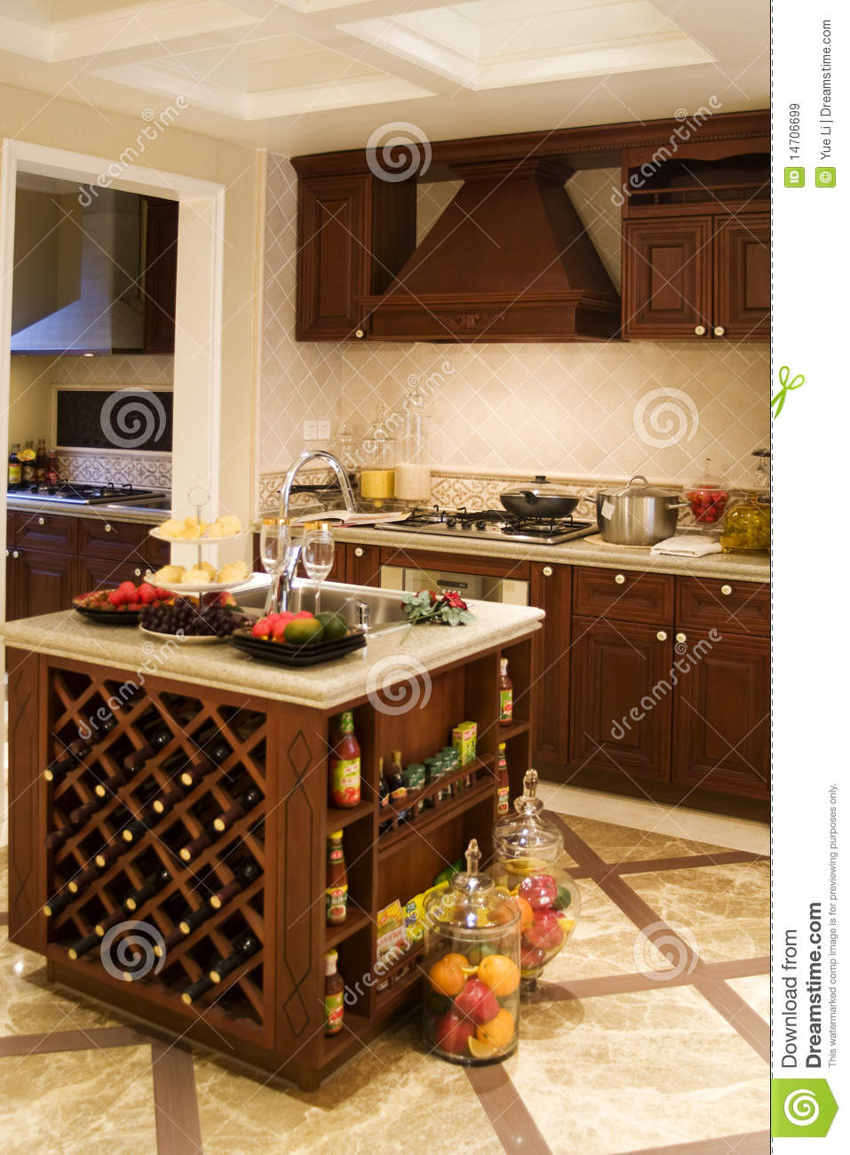 Nice Kitchen Nice Kitchen Royalty Free Stock Images Image 14706699