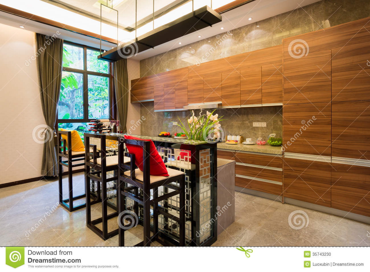 Nice kitchen stock photo image 35743230 for Nice kitchen