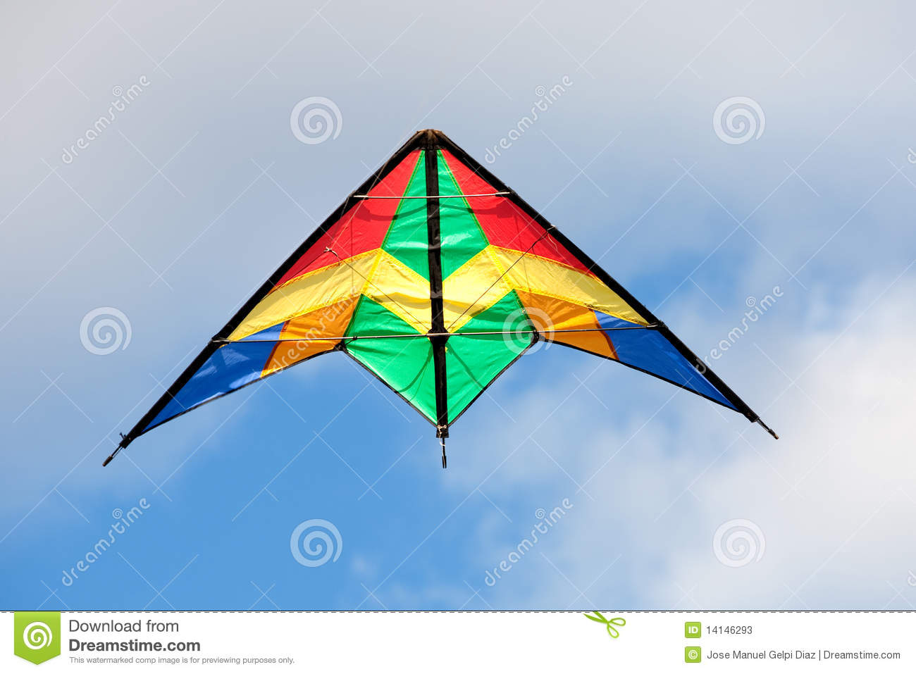 Nice kite flying stock photos image 14146293 - How to make a kite ...