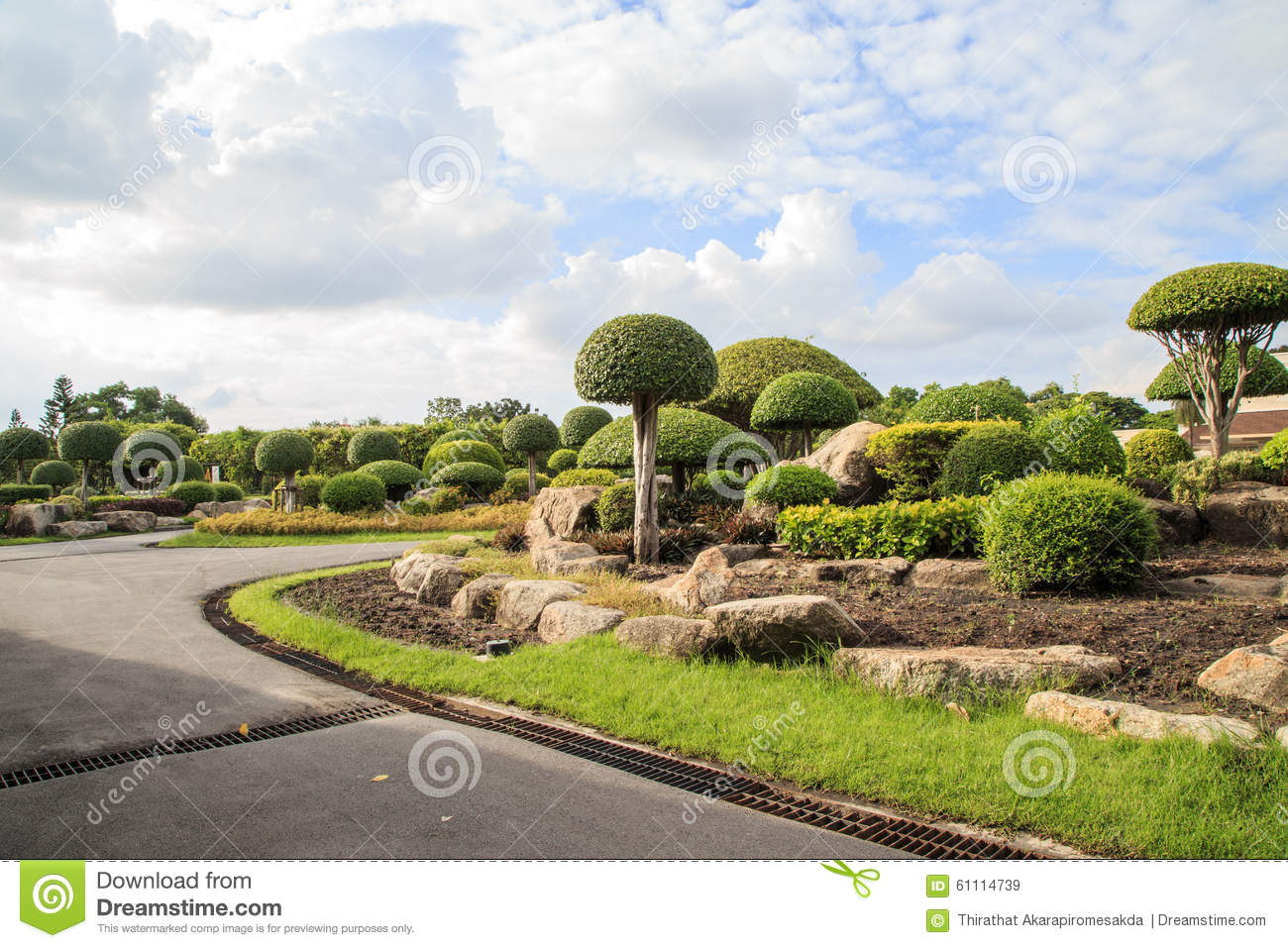 Nice Landscape Stock Photo Image 61114739