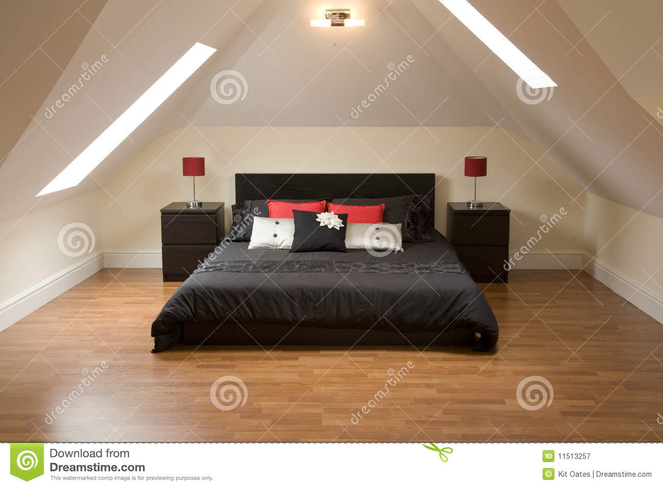 Really nice looking bed stock image image of luxury for Really nice bedrooms